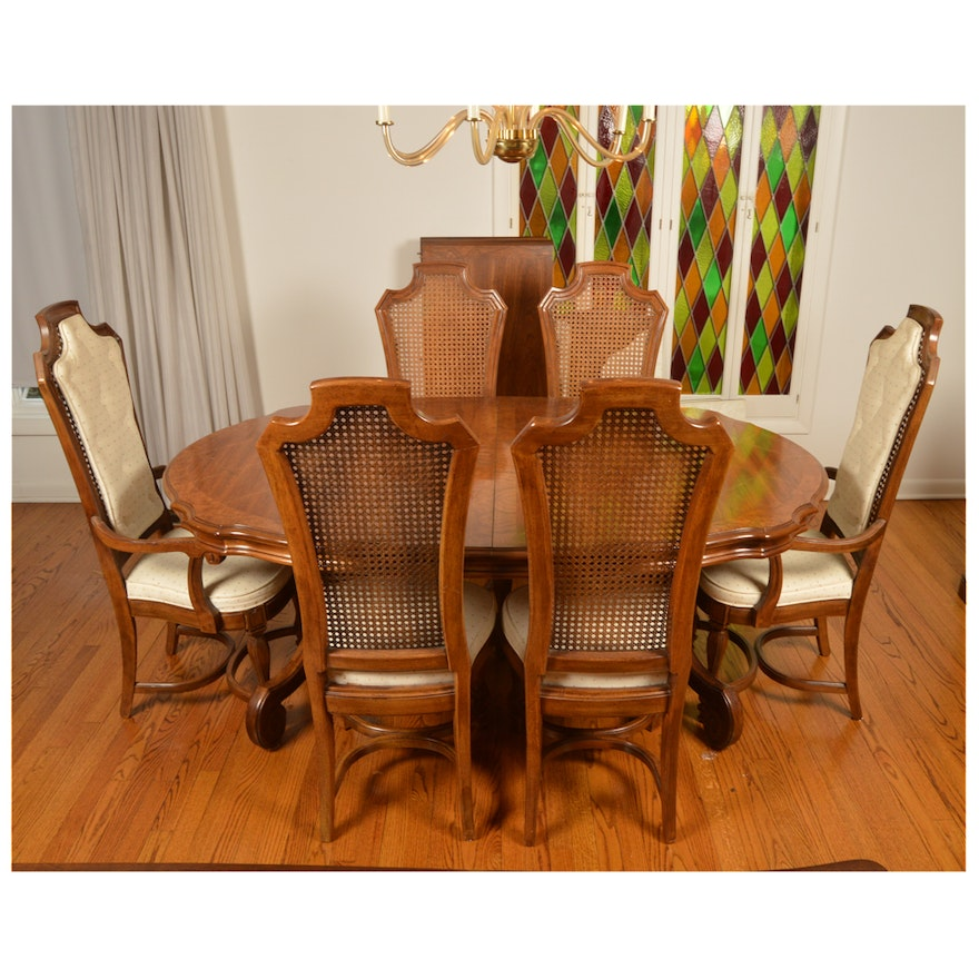 Italian Or Mediterranean Style Dining Table And Chairs