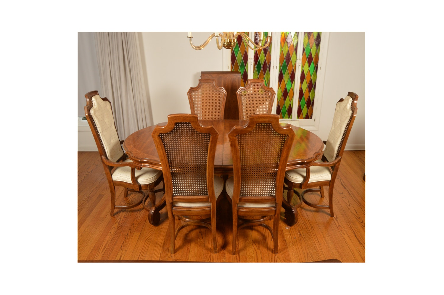 Italian Or Mediterranean Style Dining Table And Chairs ...