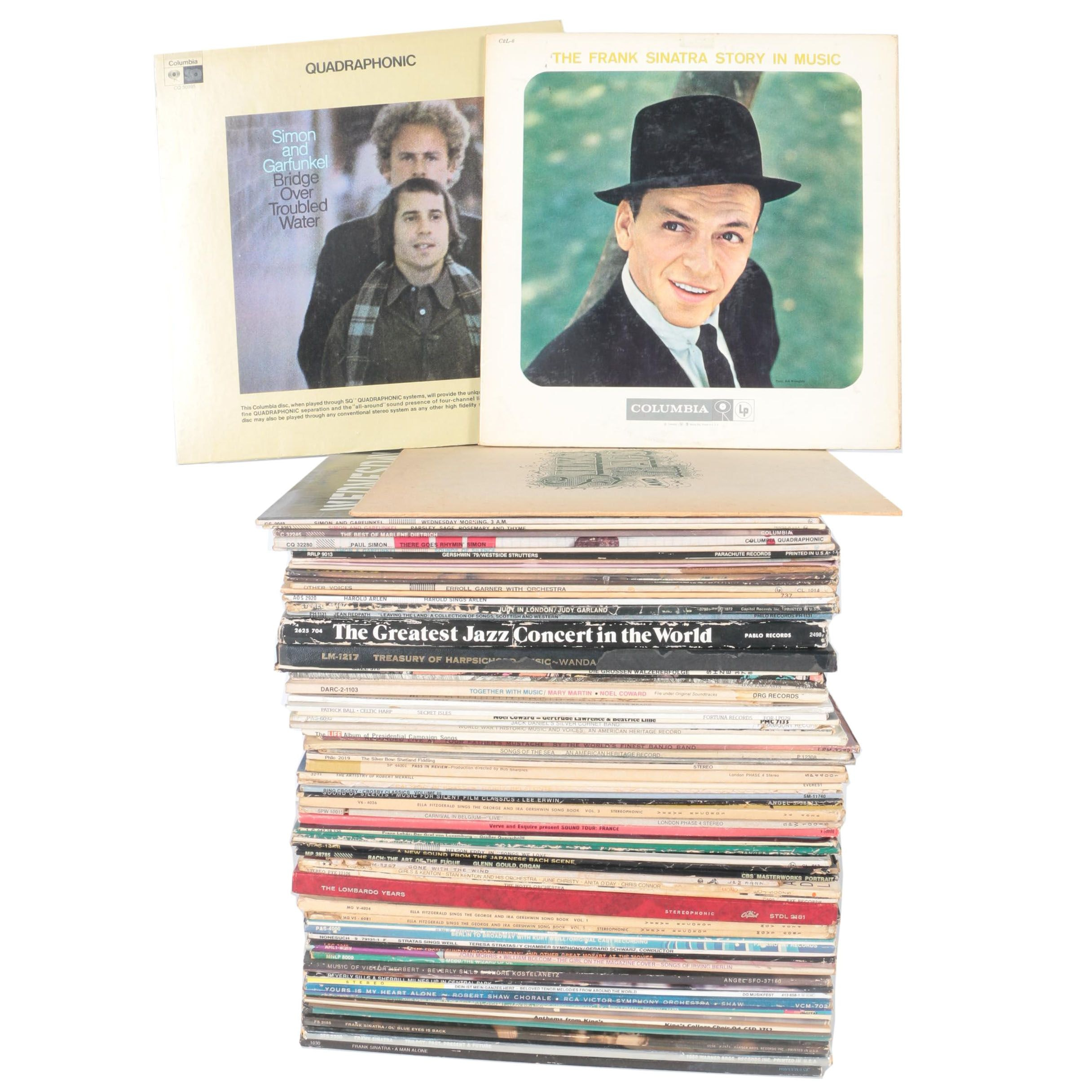 Sinatra, Bach, Simon and Garfunkel, Errol Garner and Other Vintage LPs