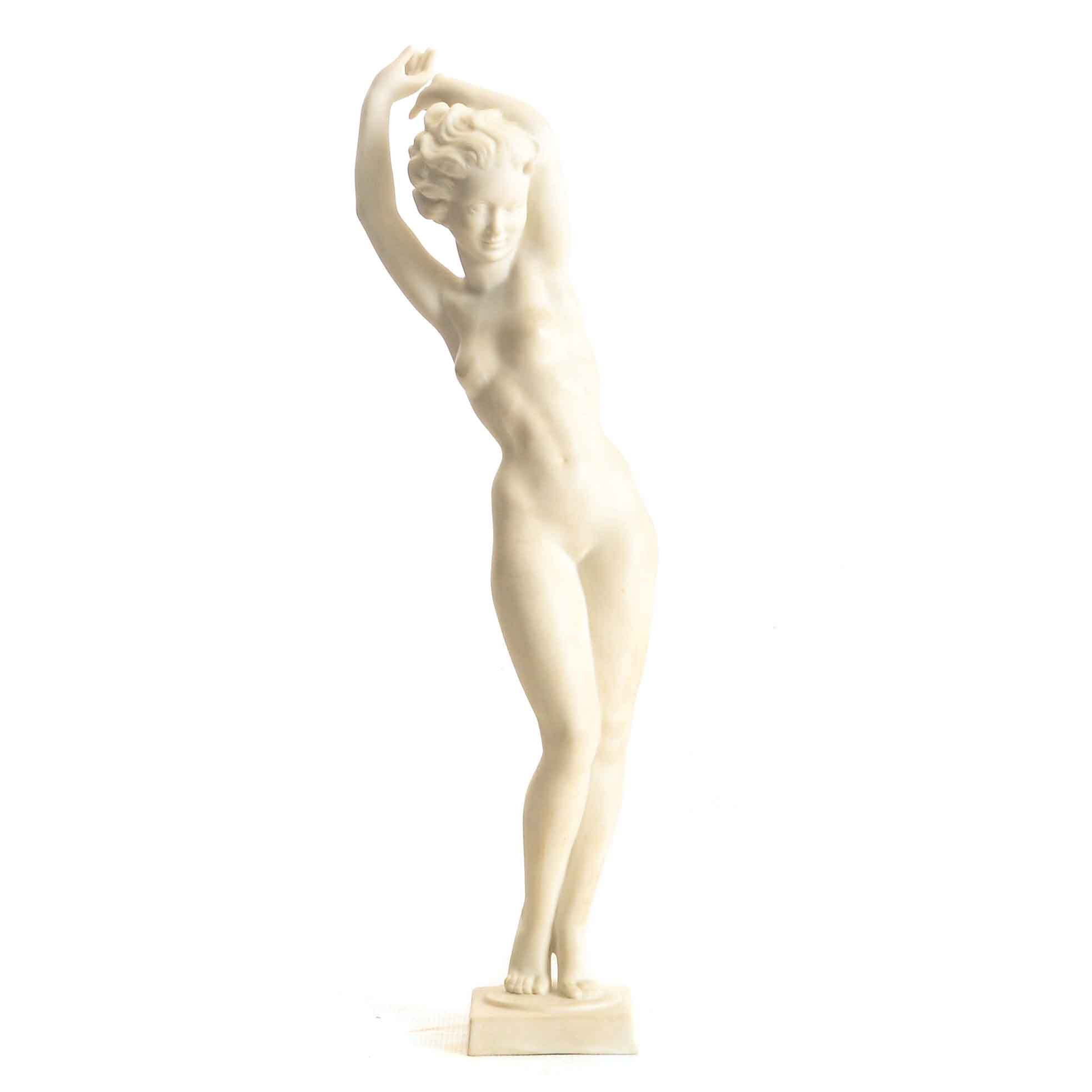 Art Deco Style Nude Figure by Hutschenreuther