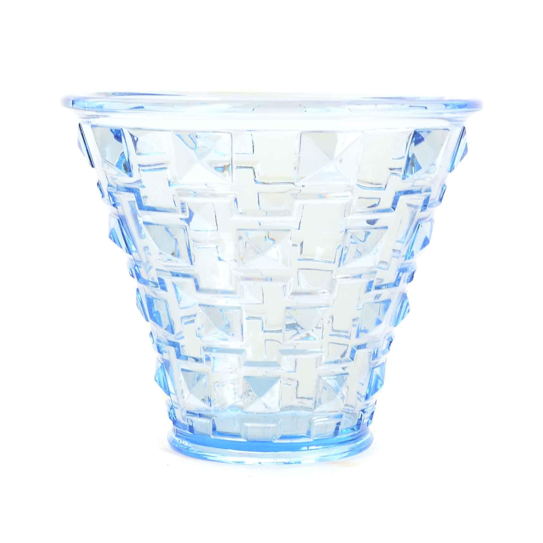 Orrefors Faceted Art Glass Vase