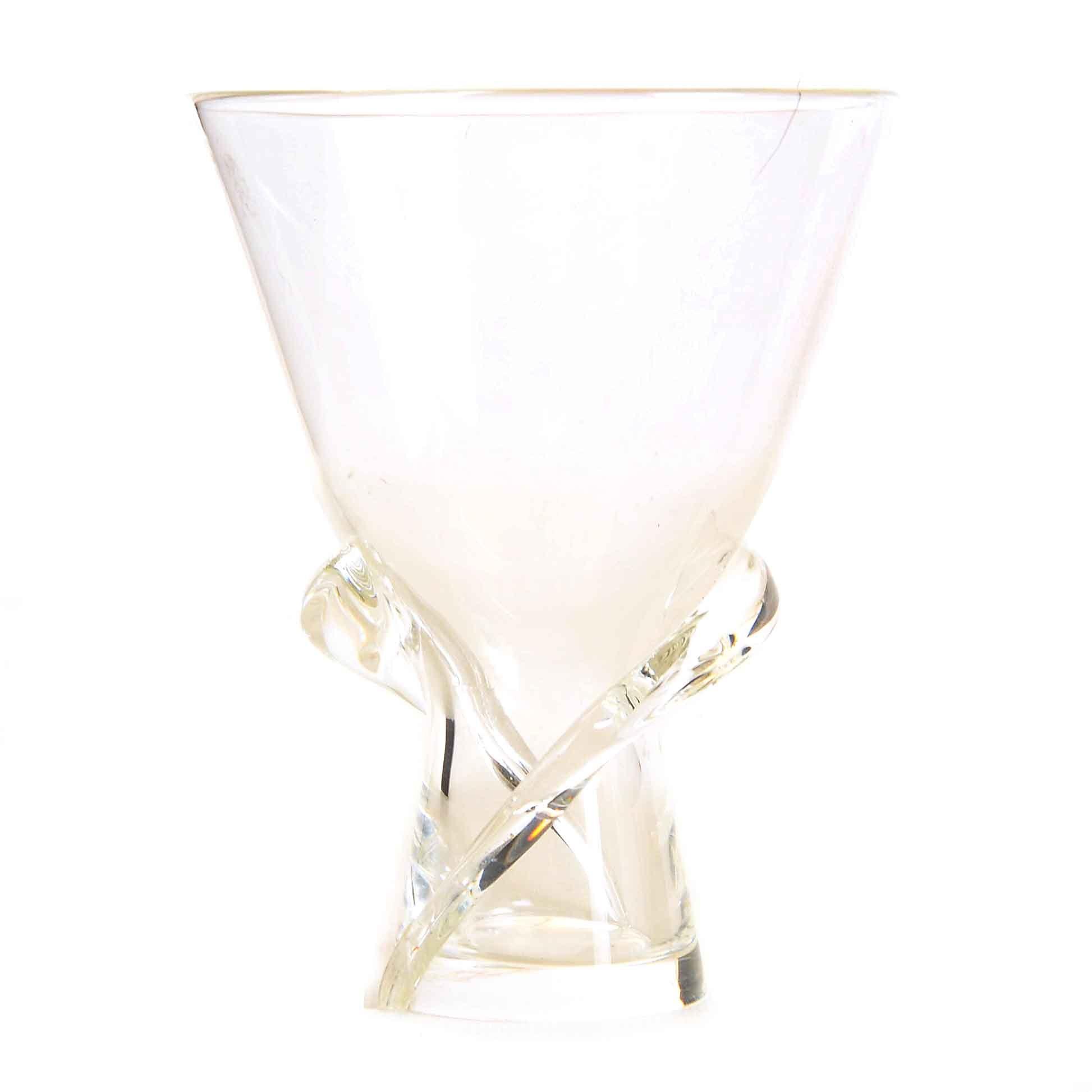 """Steuben """"Spiral"""" Glass Vase"""