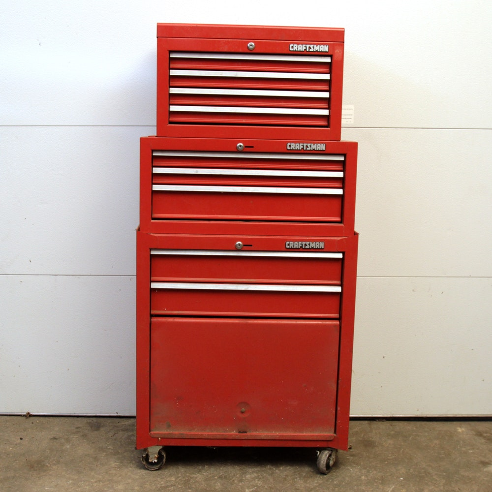 Craftsman Tool Chests with Tools