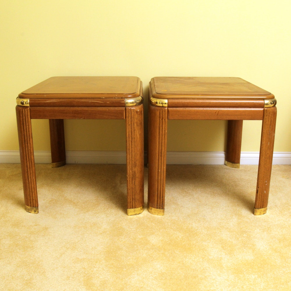 Deco Revival Style End Tables