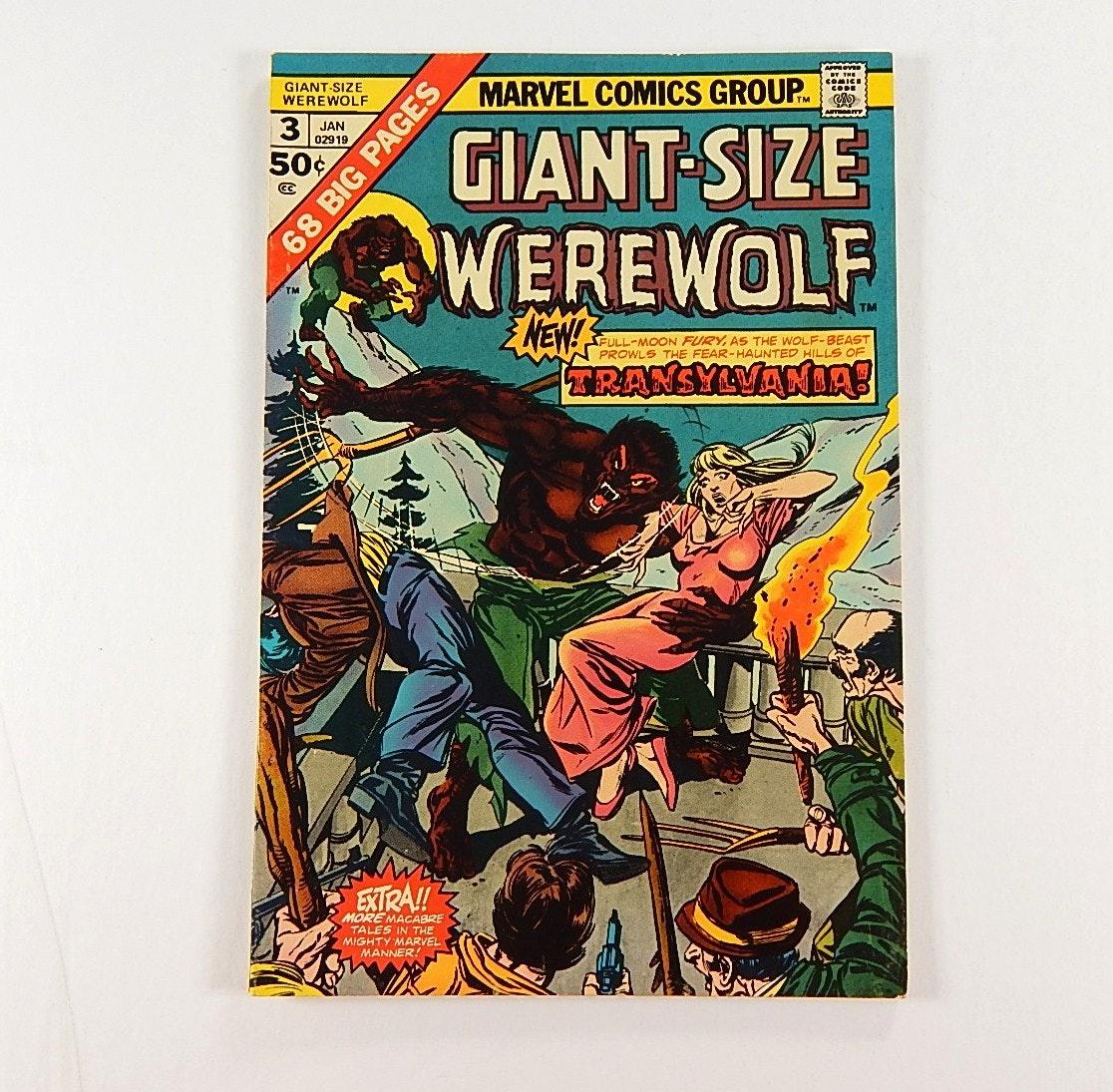"1975 Marvel Comics Giant-Size ""Werewolf by Night"""