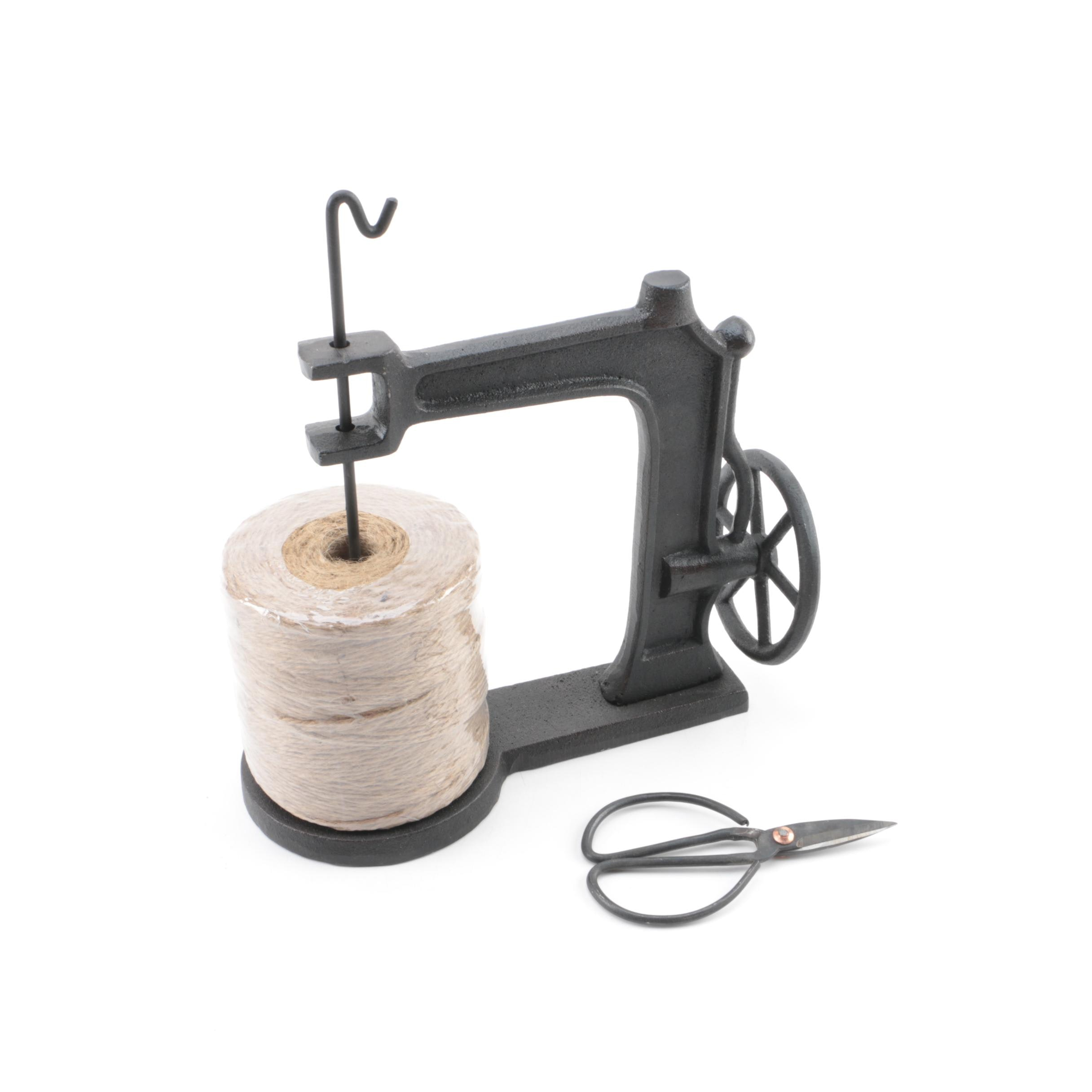 Metal Twine Spool Dispenser