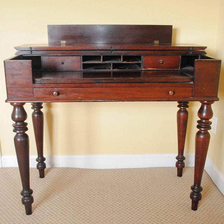 Vintage Spinet Desk; 1x1 ... - Vintage Spinet Desk : EBTH