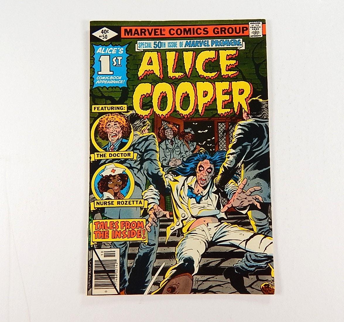 "1979 Marvel Comics ""Alice Cooper"" Vol. 1 No. 50 Issue"