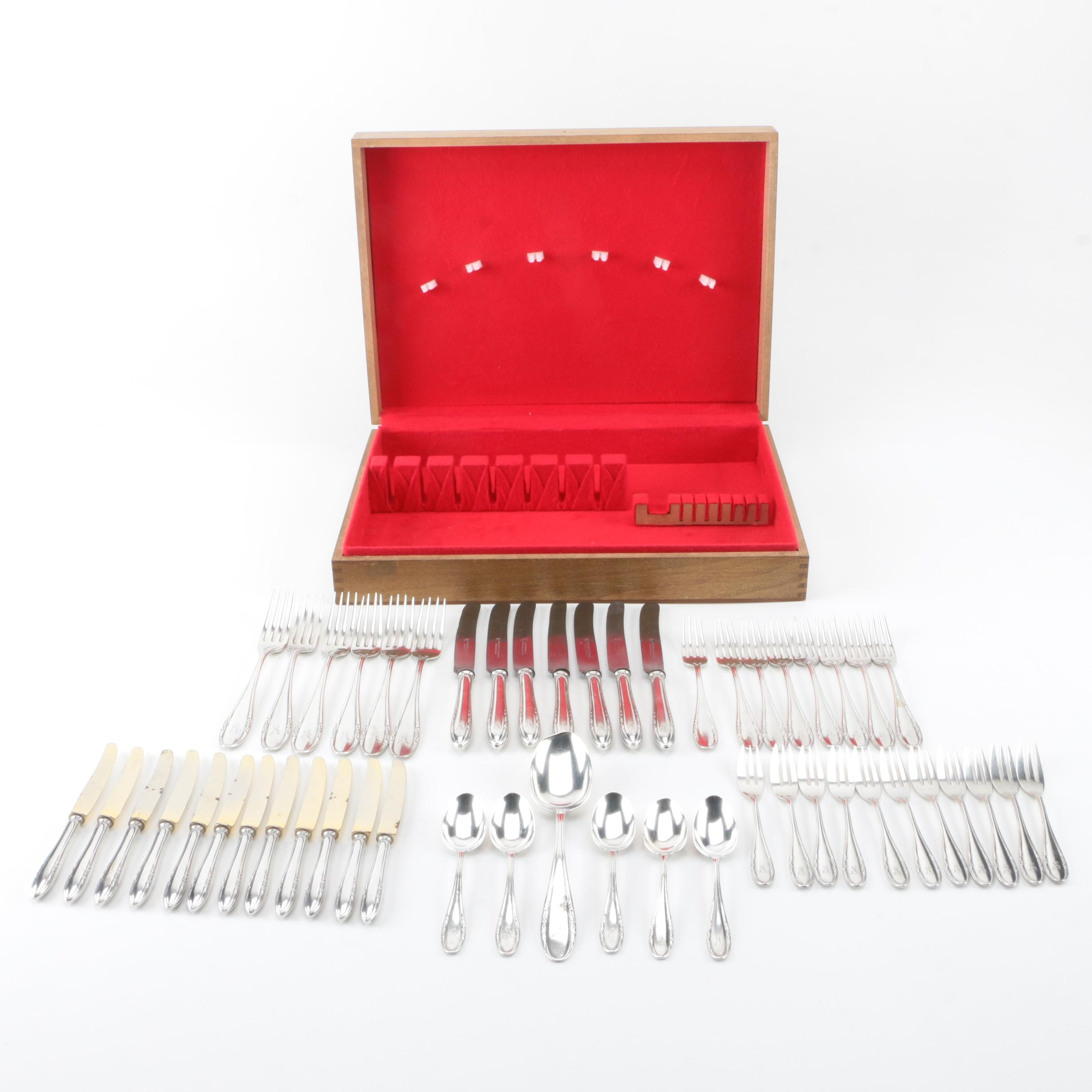 M.H. Wilkens & Söhne German 800 Silver Flatware Set