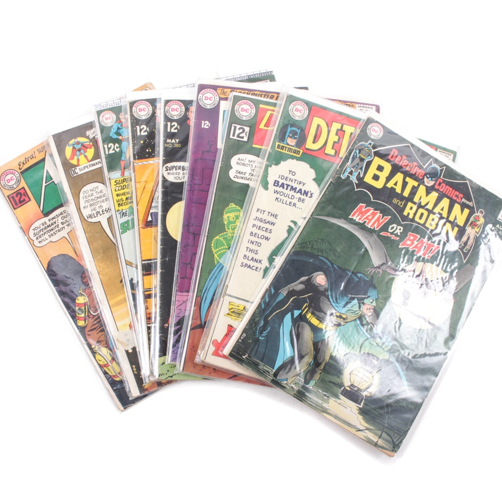 Silver Age DC Action, Detective, and Adventure Comics
