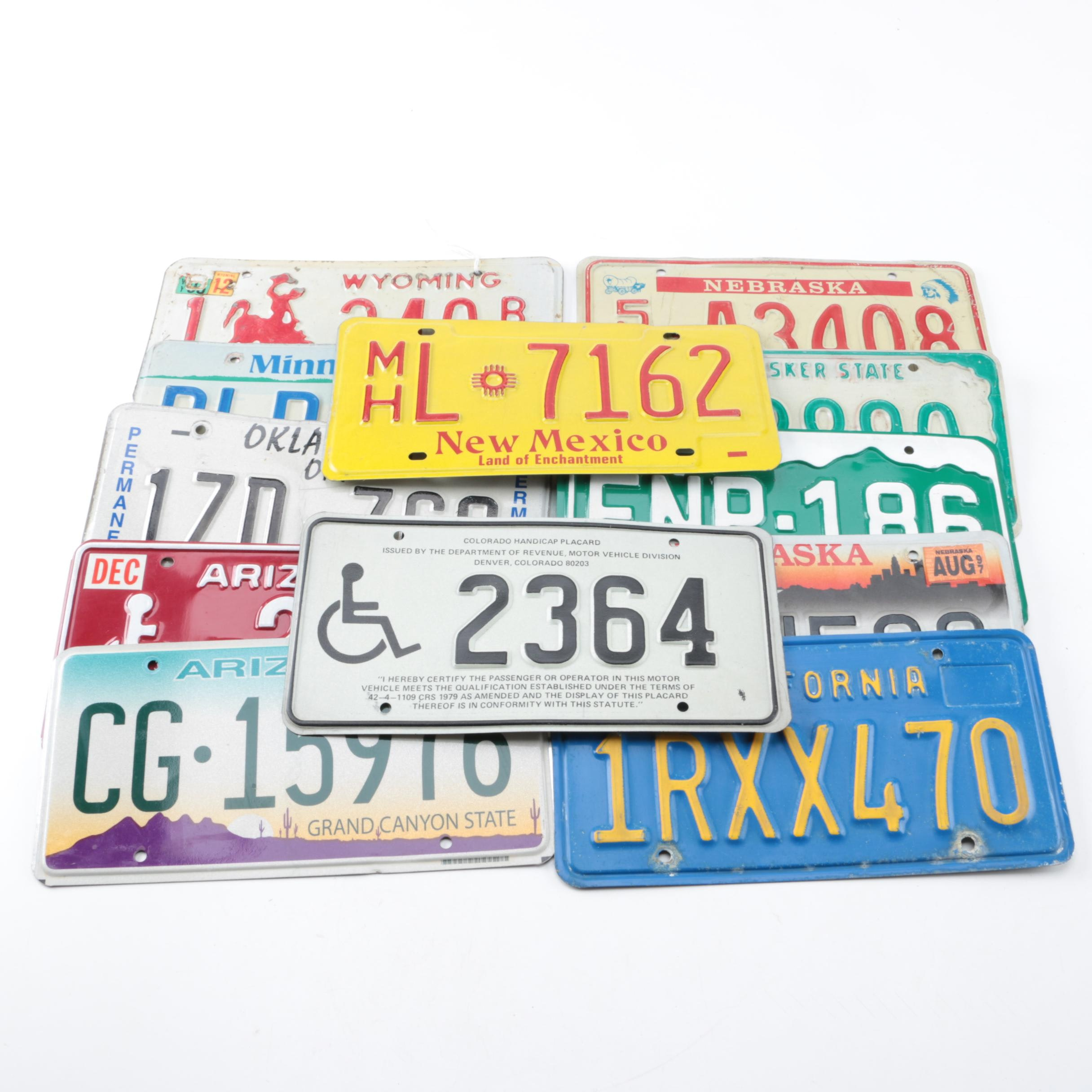 American Automobile License Plates