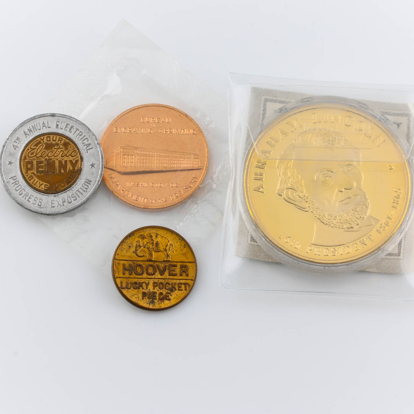 Group of Various Medals and Tokens