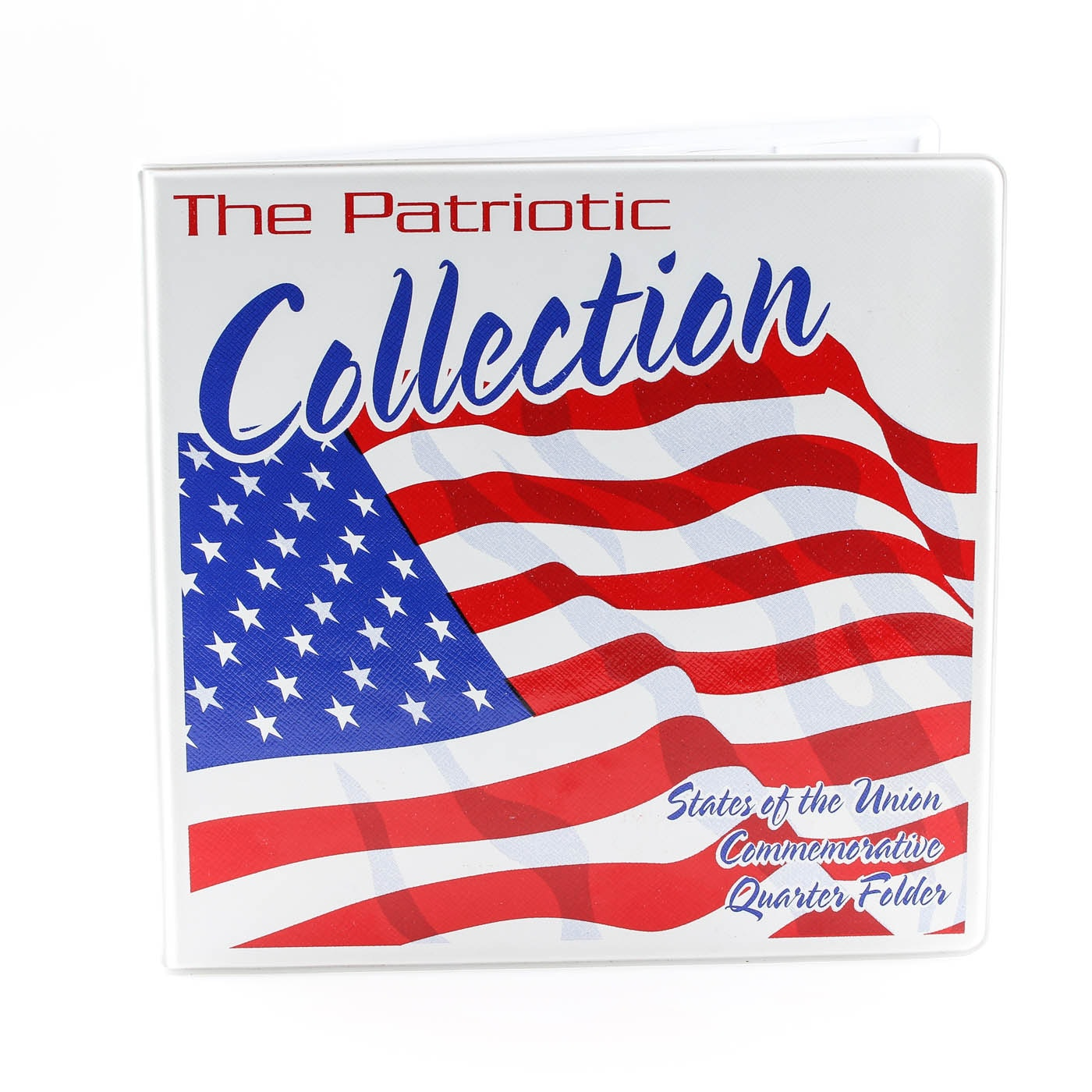 Statehood Quarter Collection in a Patriotic Collection Coin Folder