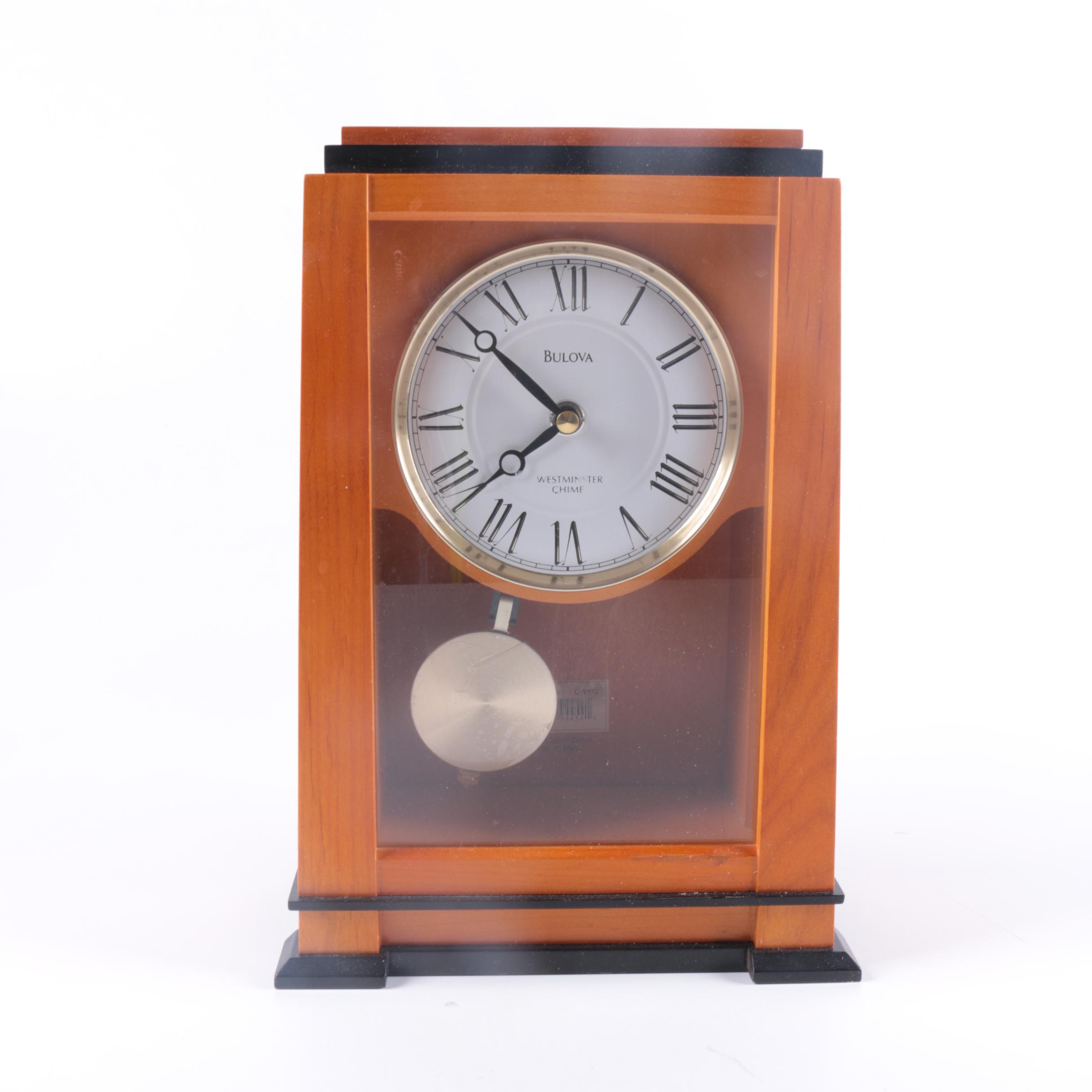 Bulova Westminster Chime Clock EBTH