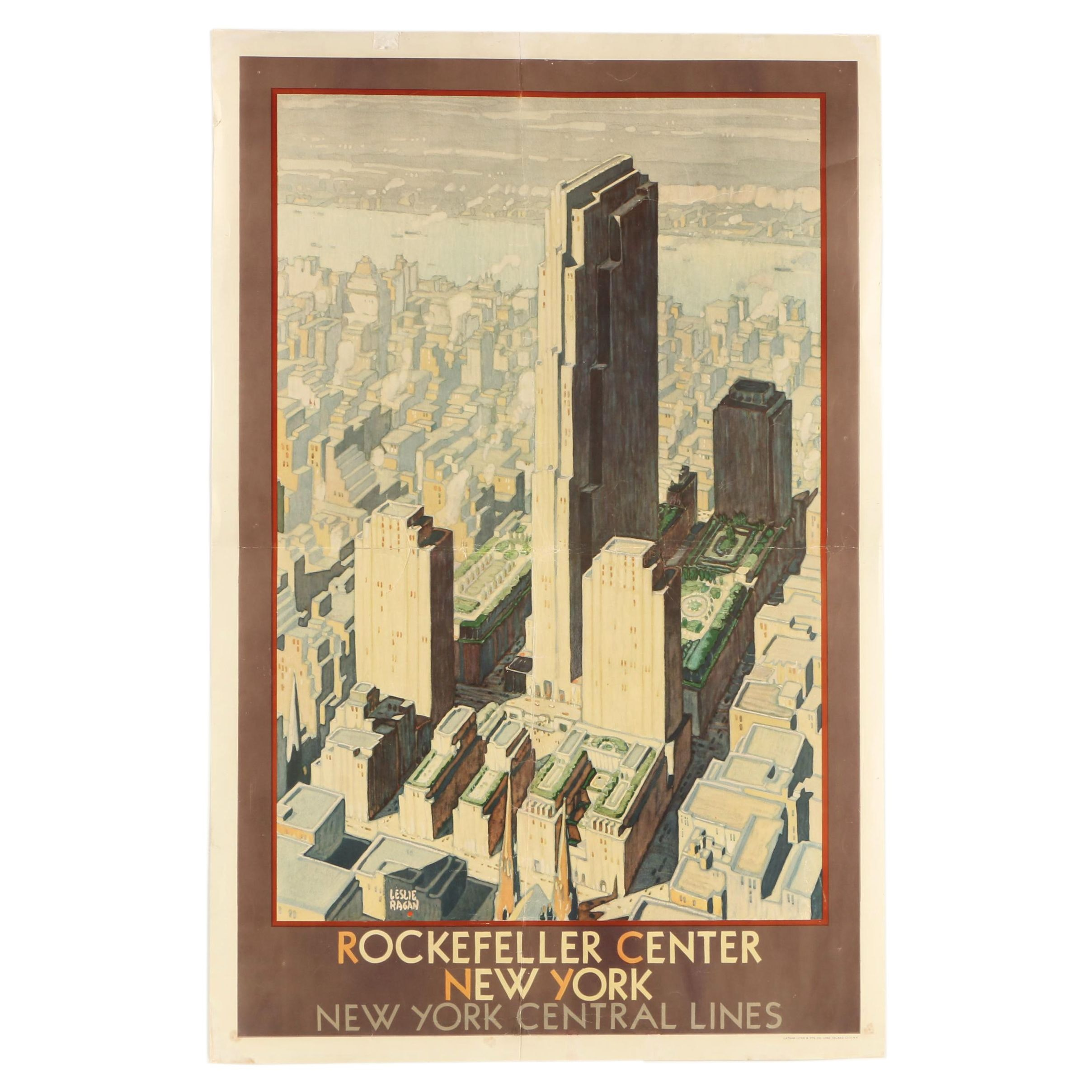 Poster of Rockefeller Center