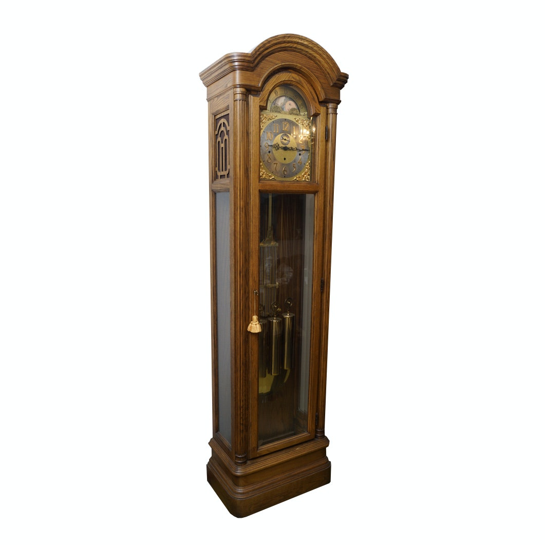 Colonial Grandfather Clock