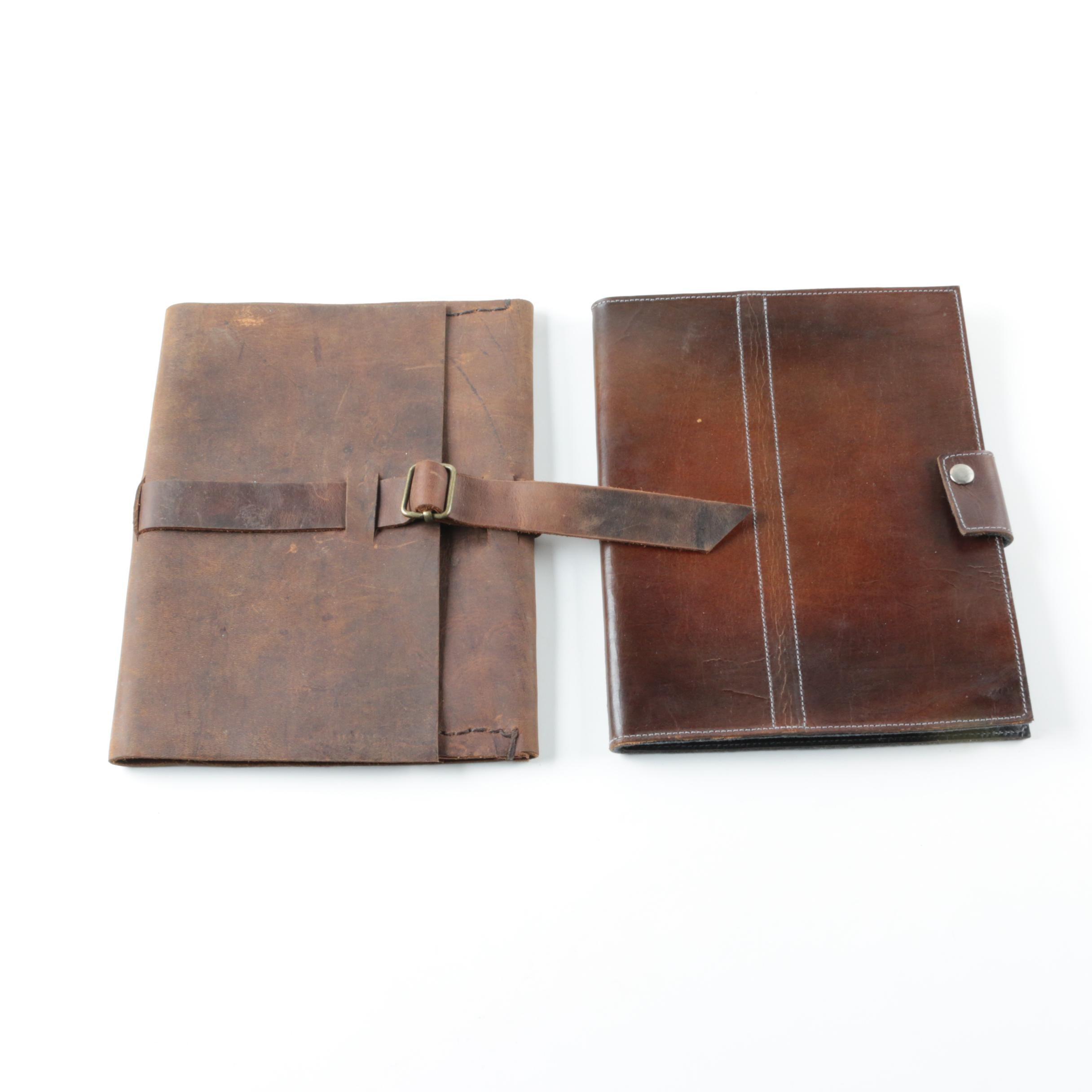 Leather Office Folders