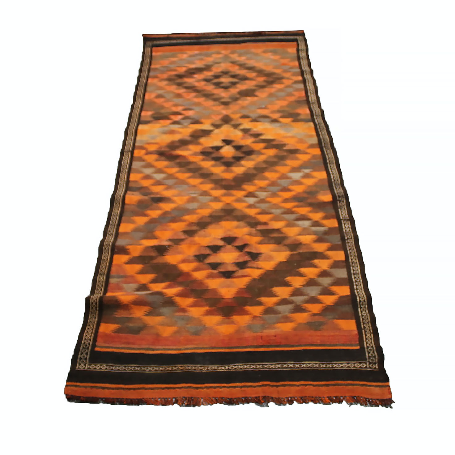 Circa 1950s Handwoven Turkish Kilim