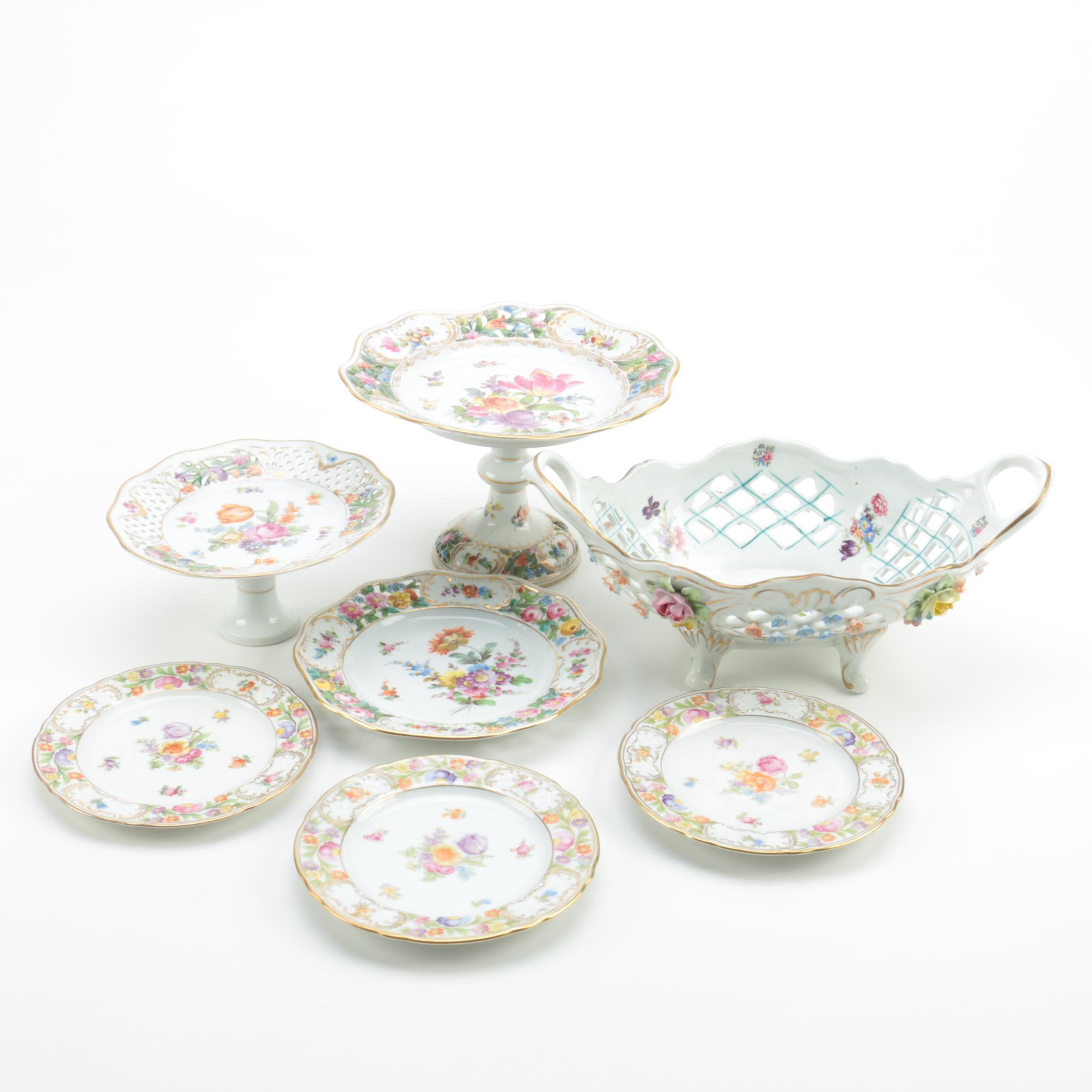 Dresden and Schumann Porcelain Tableware