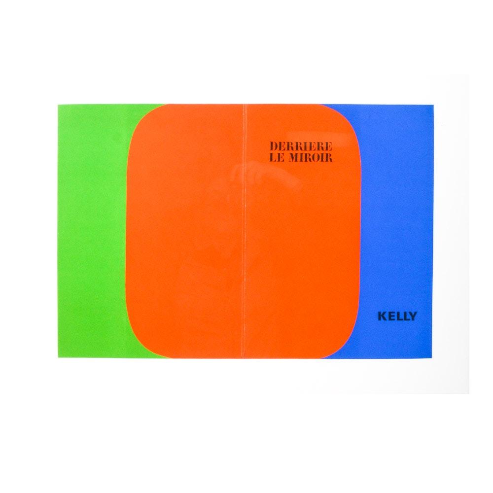 """Ellsworth Kelly Color Lithograph for Cover of 1964 """"Derrière le Miroir"""" No. 149"""