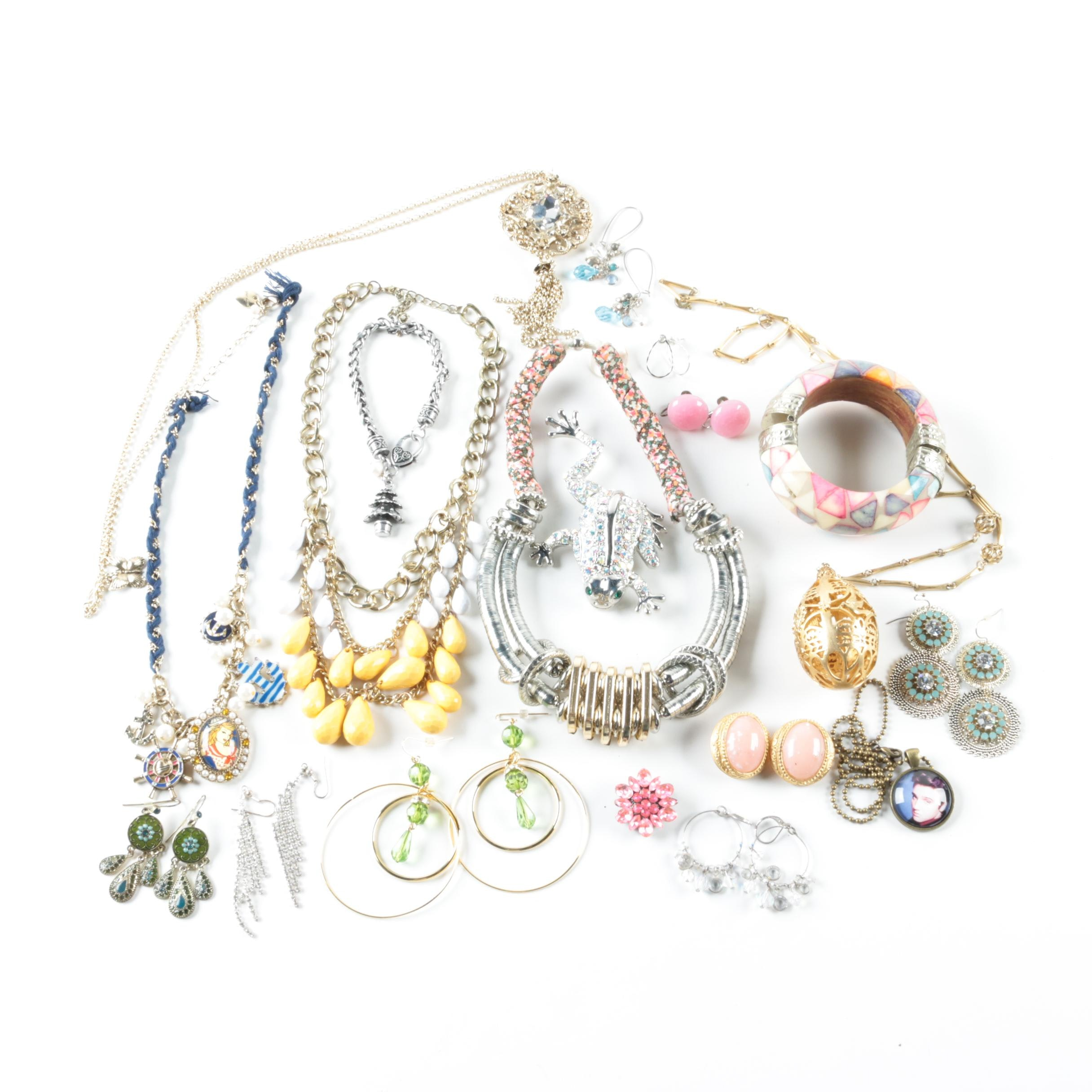 Assortment of Jewelry Including Betsy Johnson