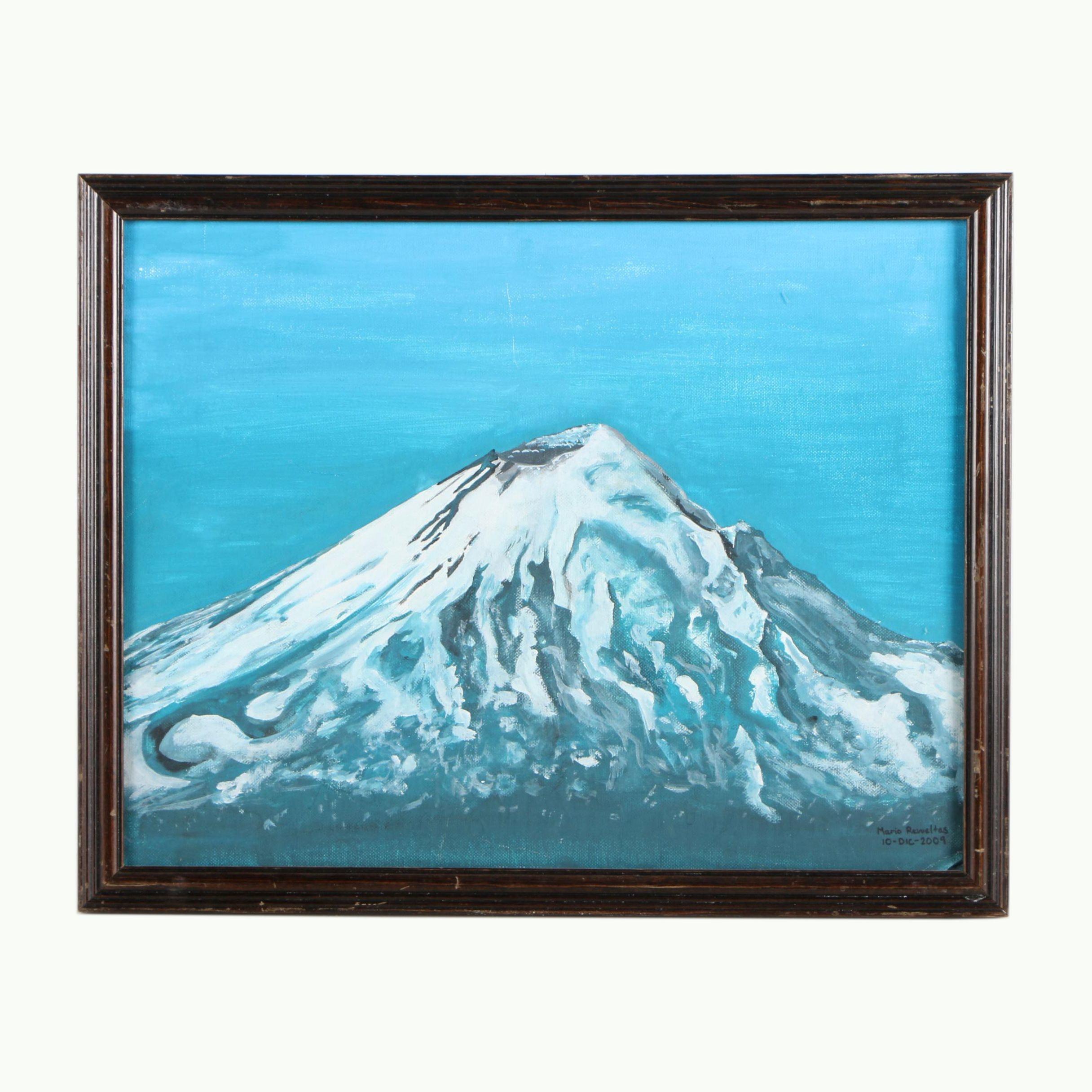 Mario Revueltas 2009 Oil Painting