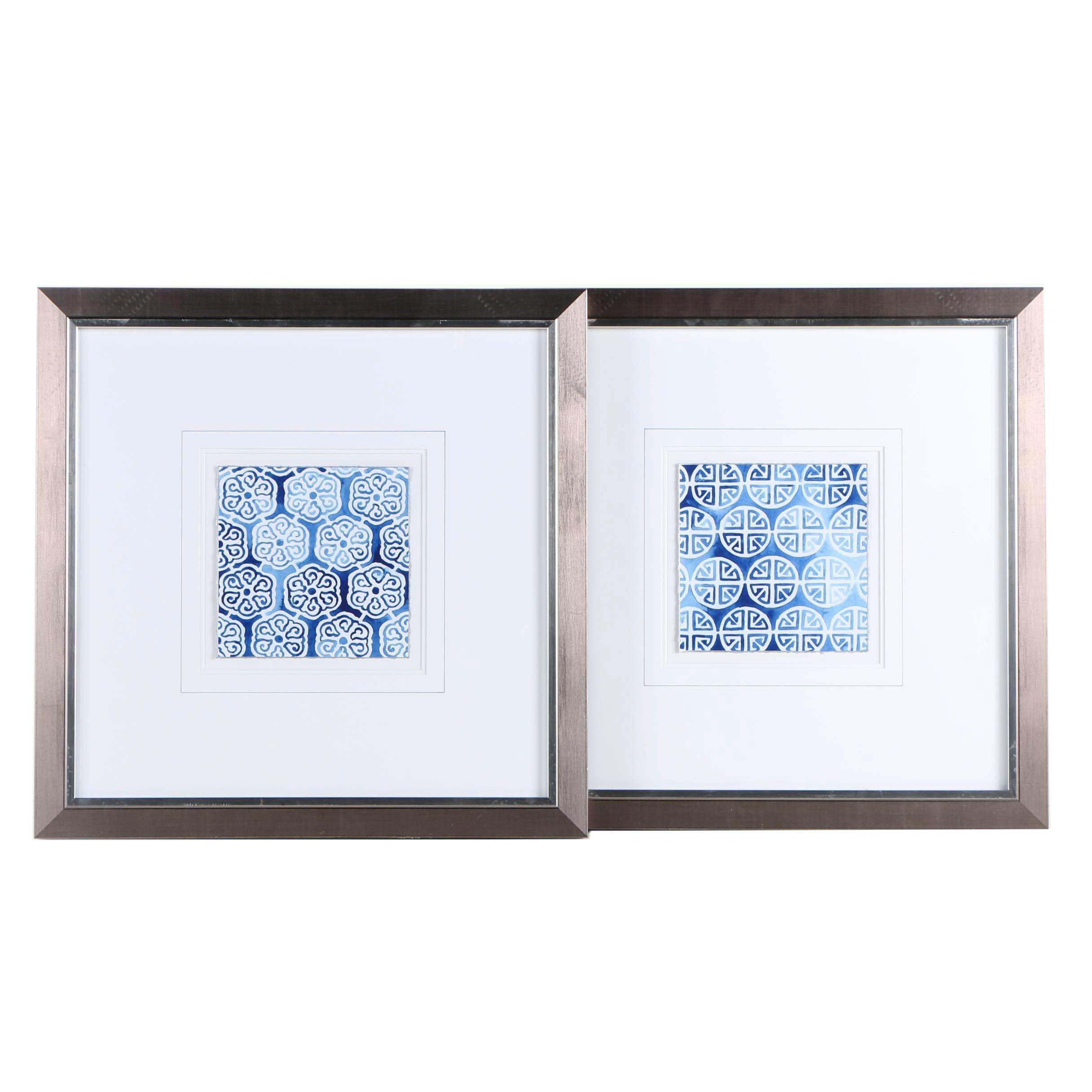 Giclée Prints on Paper of Geometric Patterns