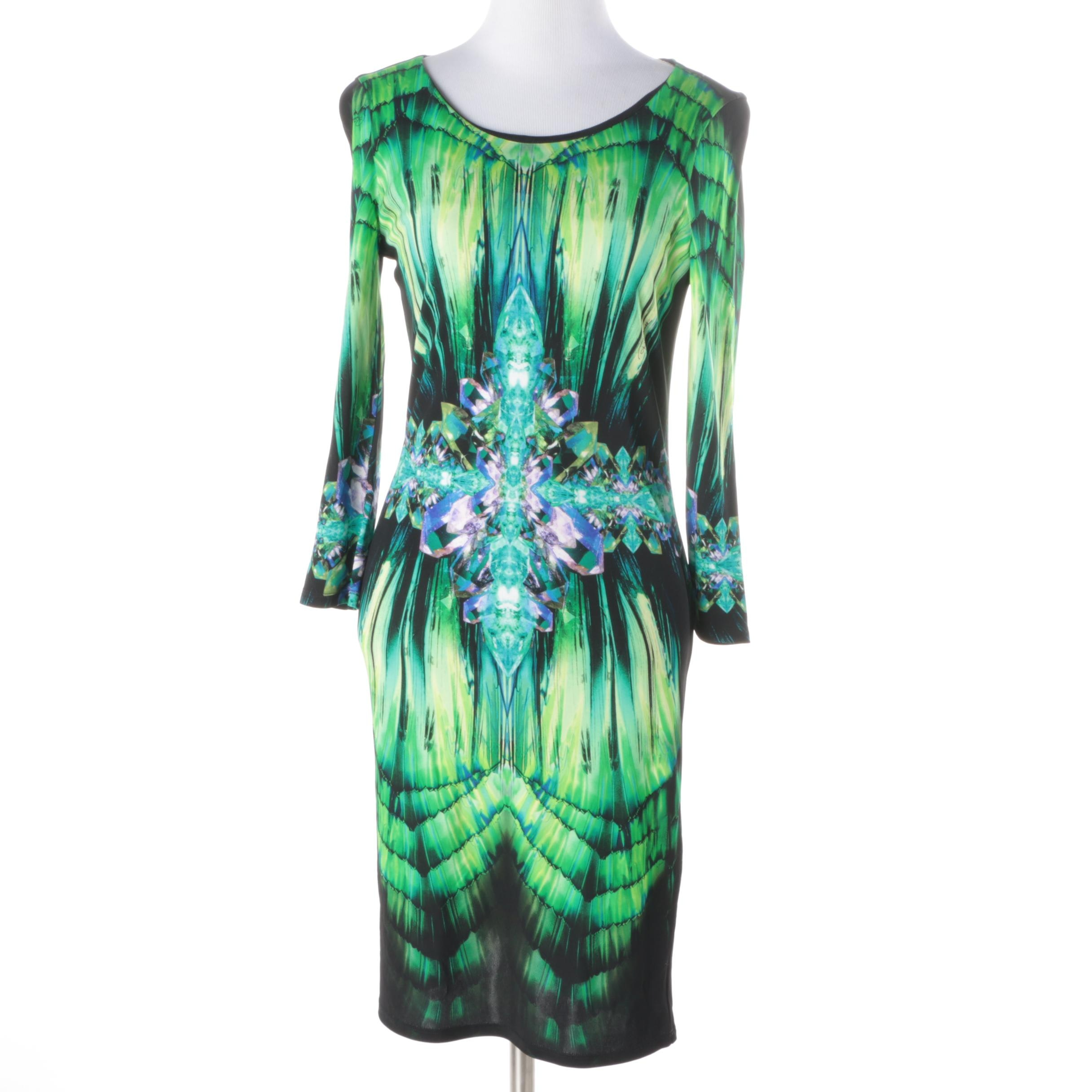 Roberto Cavalli Knit Sheath Dress