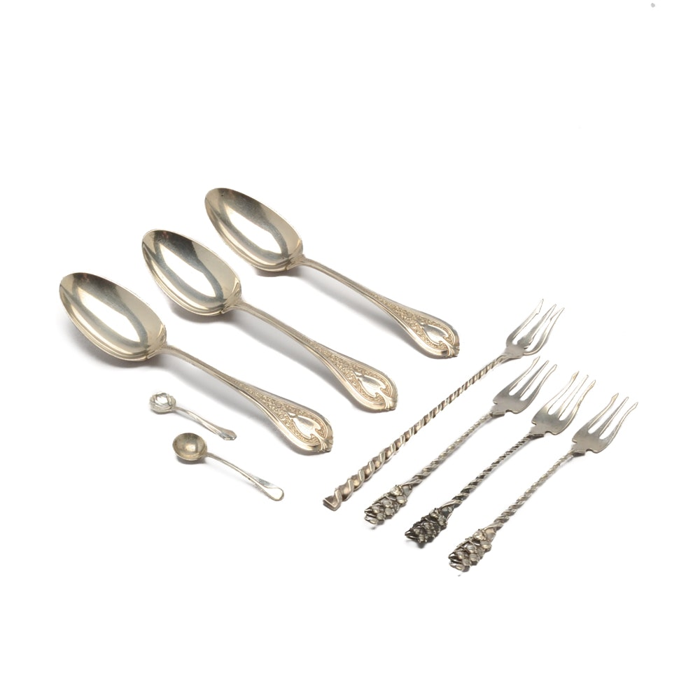 Whiting Mfg. Co., Dominick & Haff and Other Vintage Sterling Silver Flatware