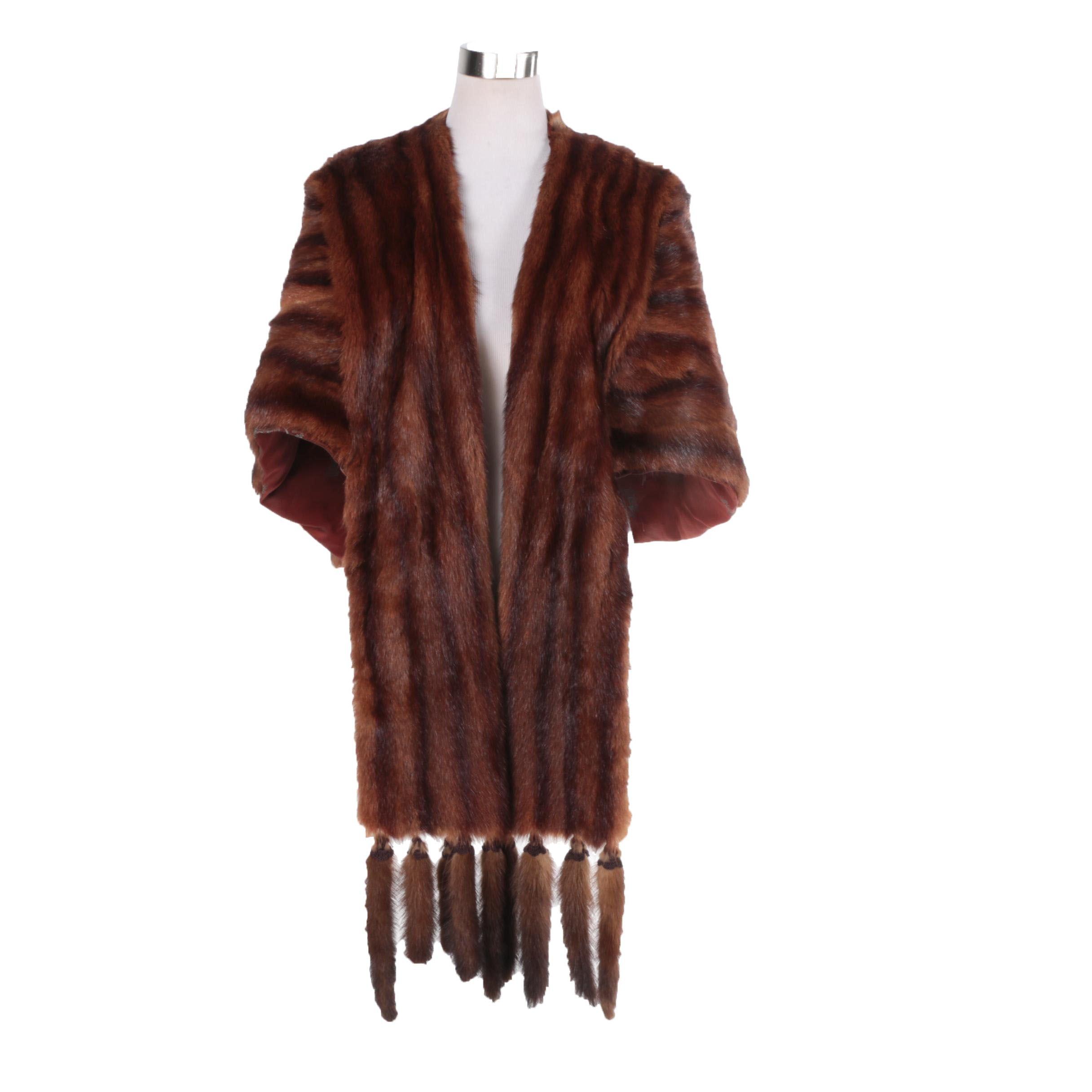 Vintage Joslin's Marmot Fur Stole
