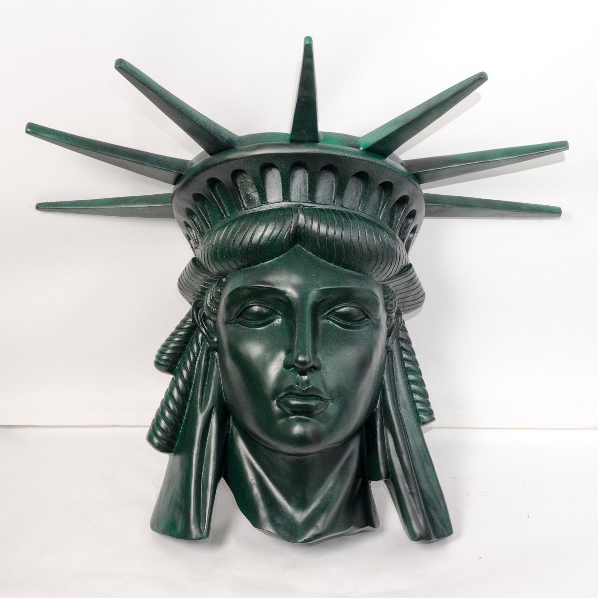 Statue of Liberty Sculptural Bust