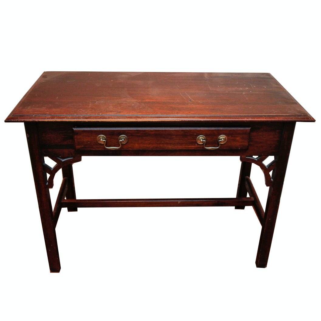 Vintage Chippendale Style Console Table