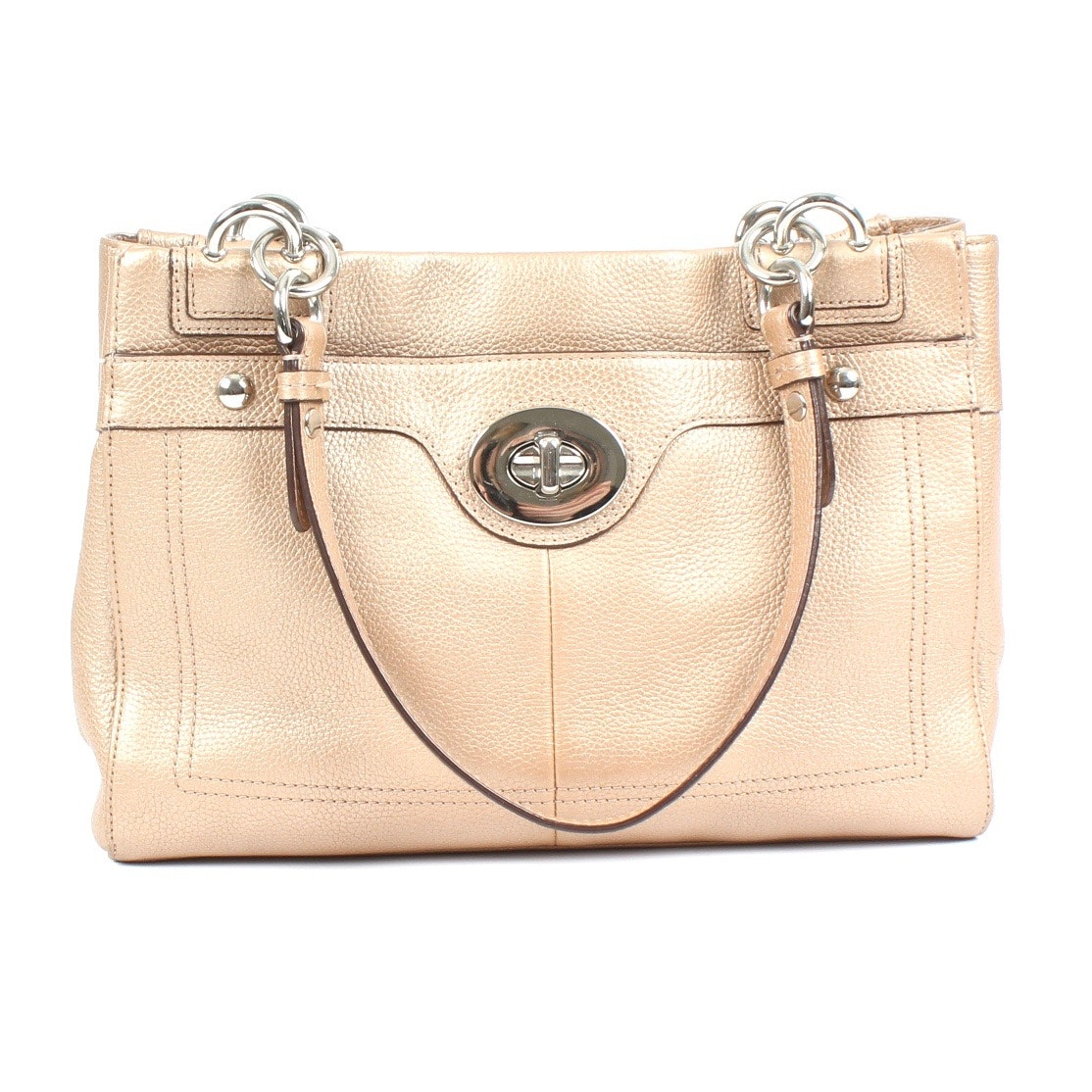Coach Penelope Pebbled Leather  Handbag