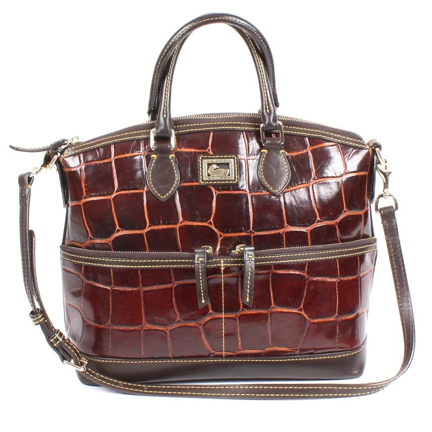 Dooney & Bourke Leather Satchel Bag