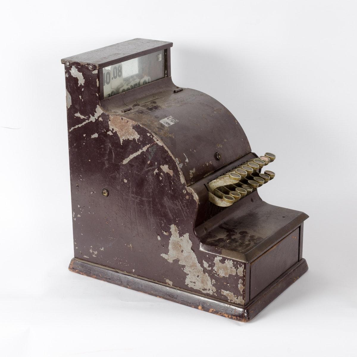 Vintage Metal Cash Register