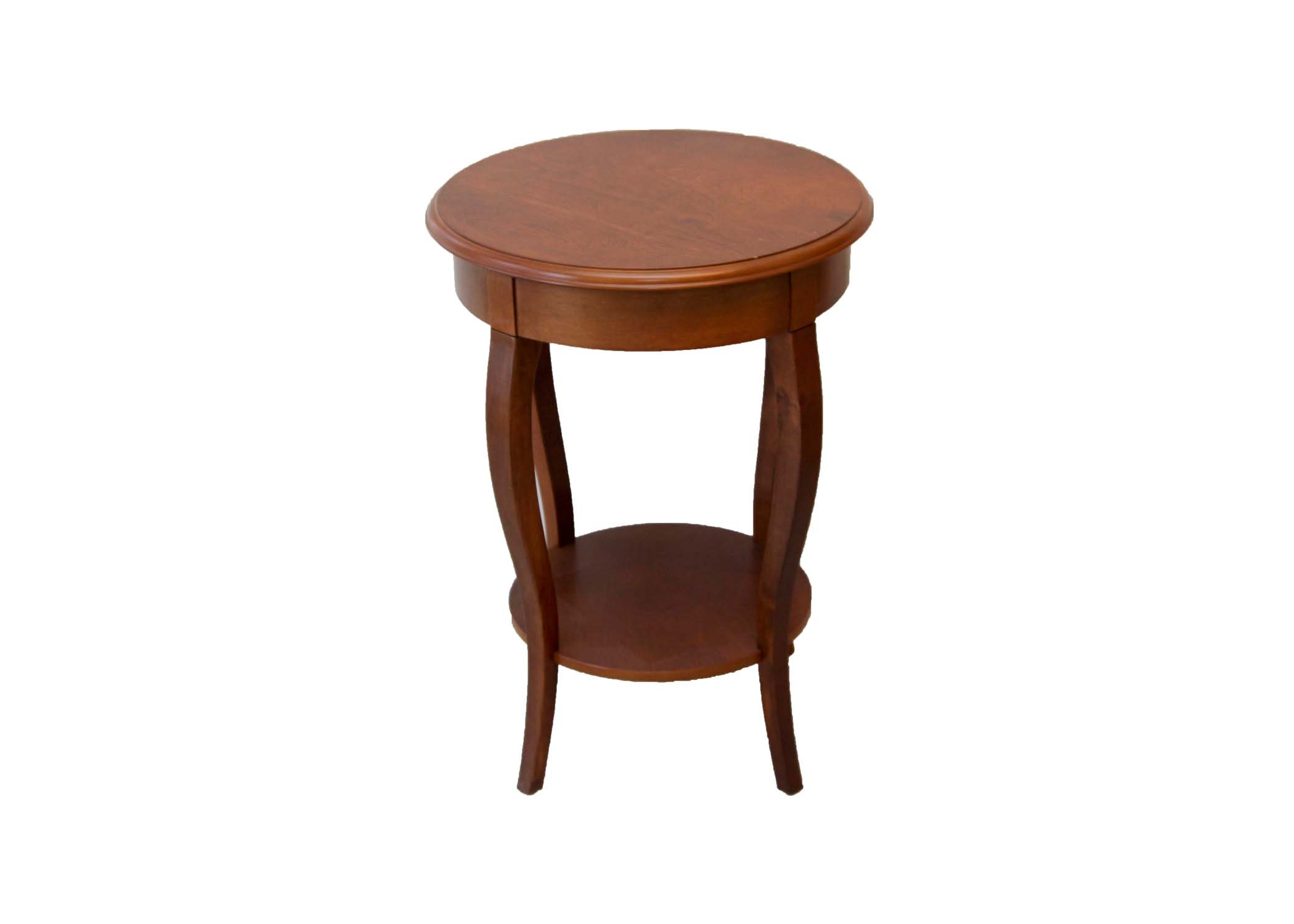 Round Side Accent Table