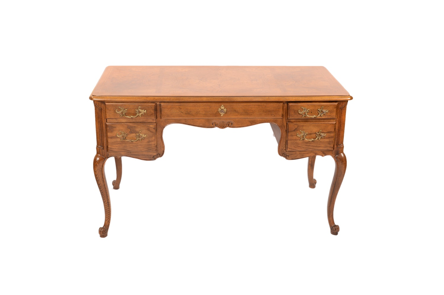Vintage Louis XV Style Desk by Baker Furniture