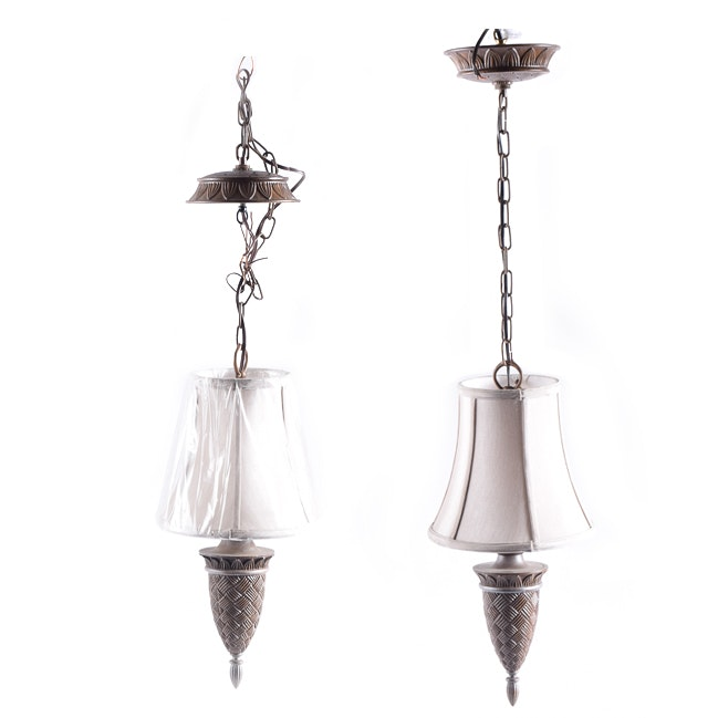 Contemporary Hanging Lights with Empire Shades