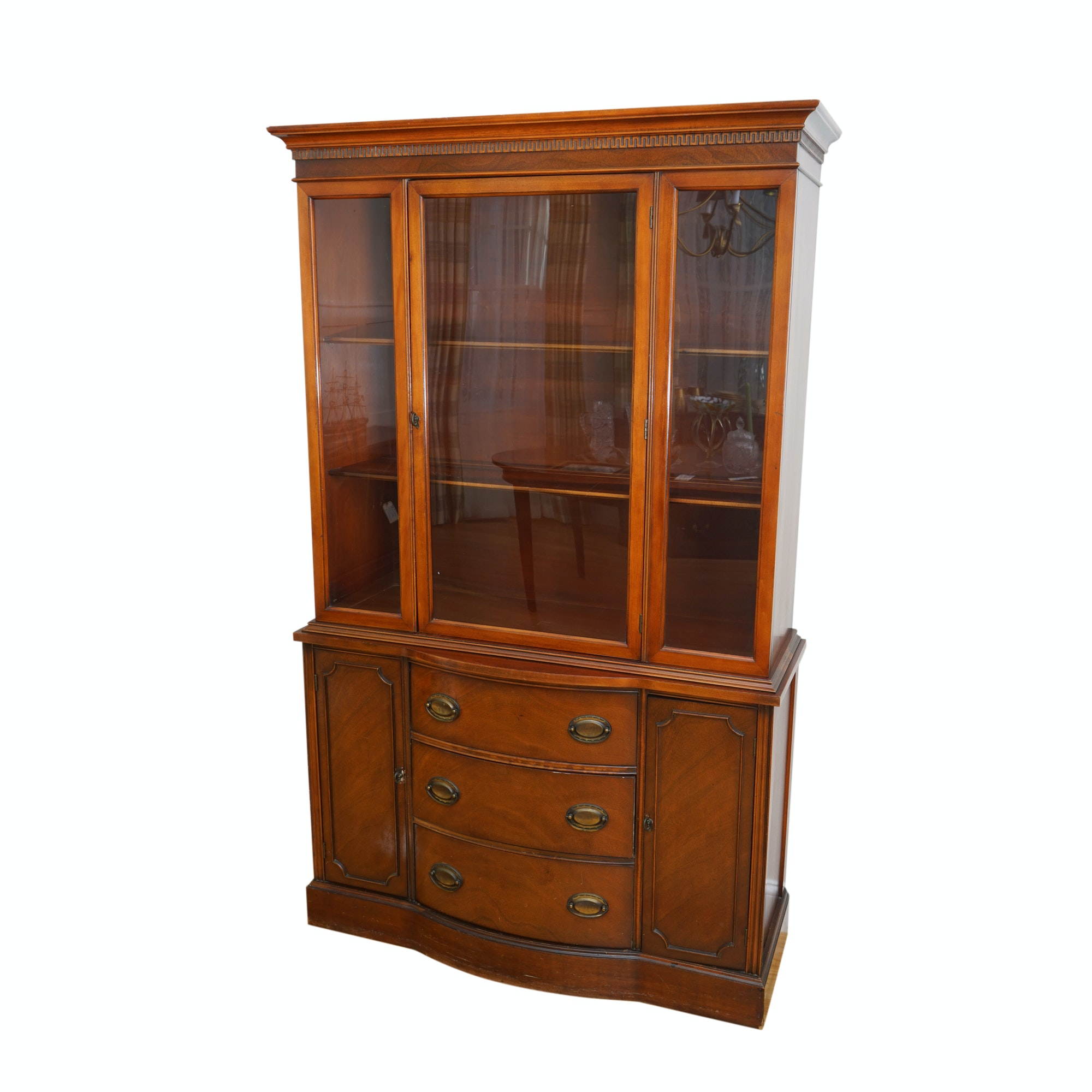 Federal Style Breakfront Cabinet