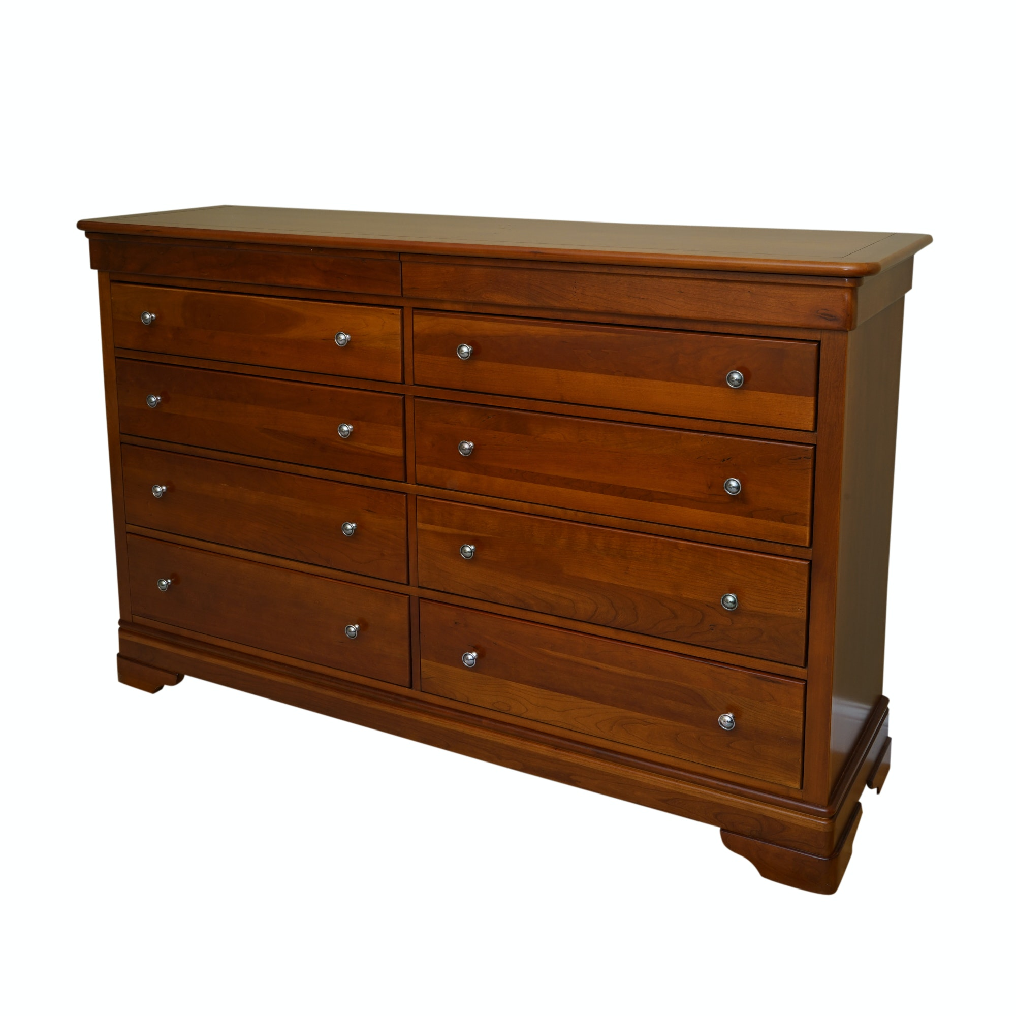 French Style Cherry Dresser by Stanley