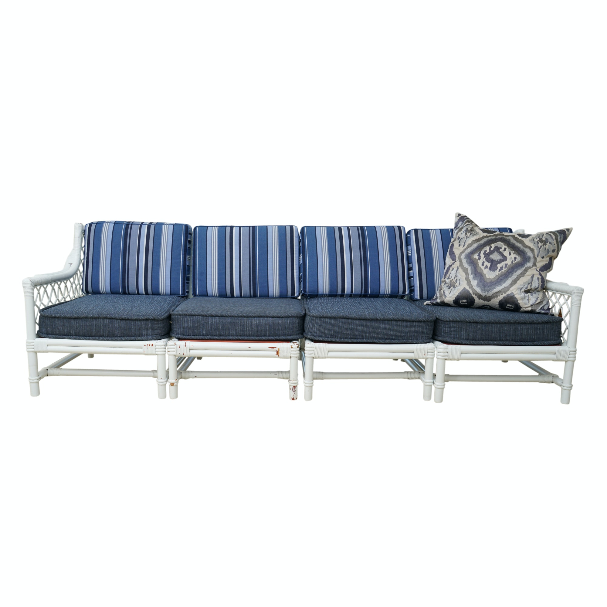 Modular Wicker Patio Sofa