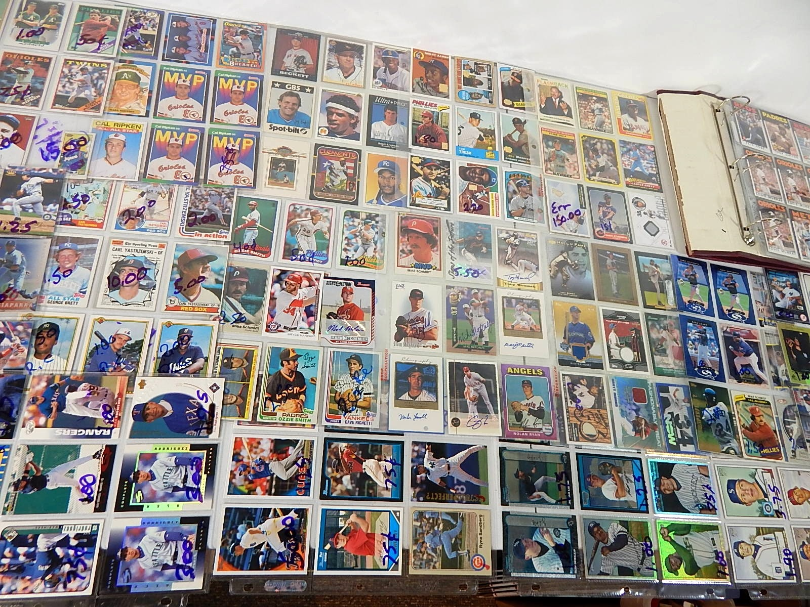 Baseball Star and Rookie Card Collection with Autographs, Game Used and More
