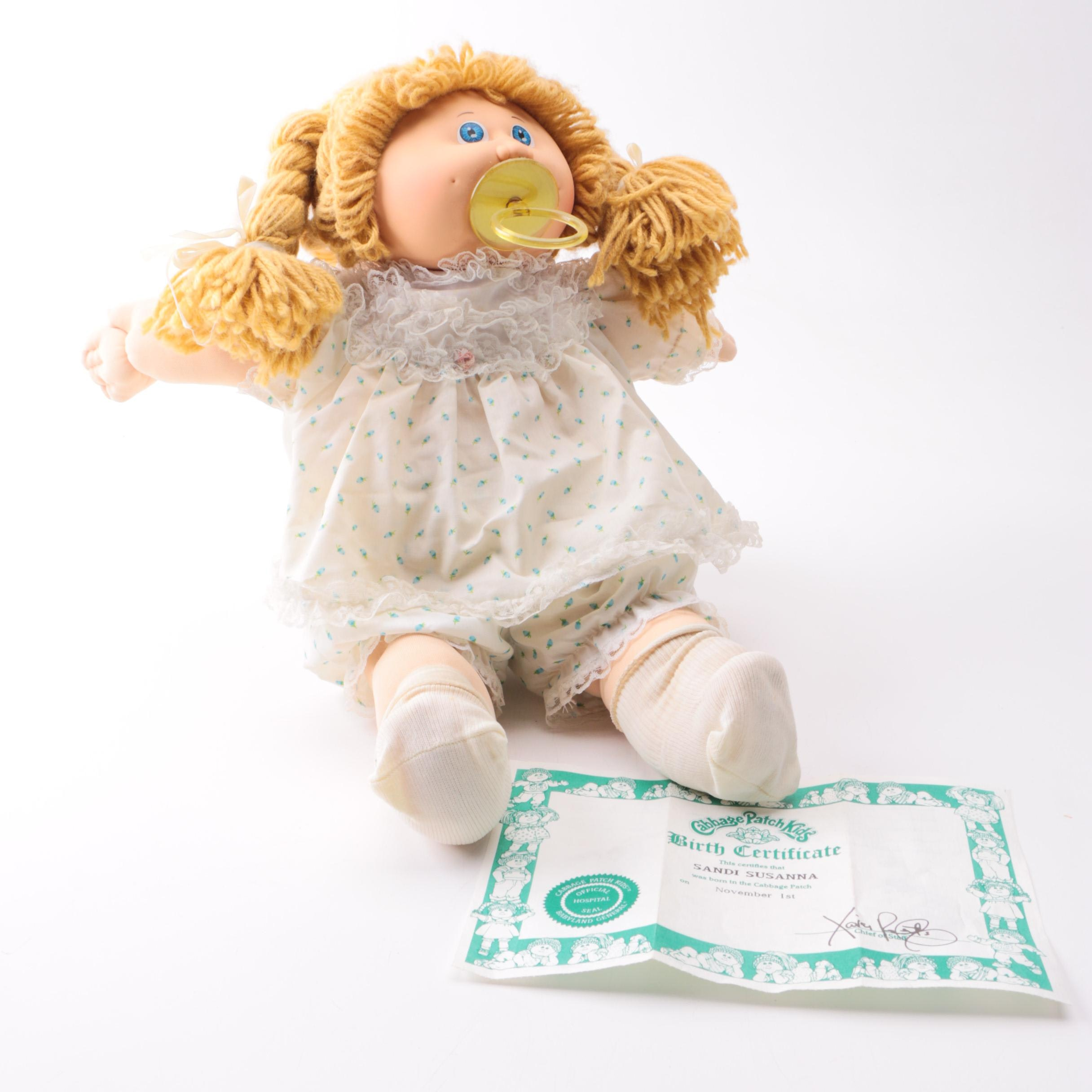 Cabbage Patch Cloth Doll