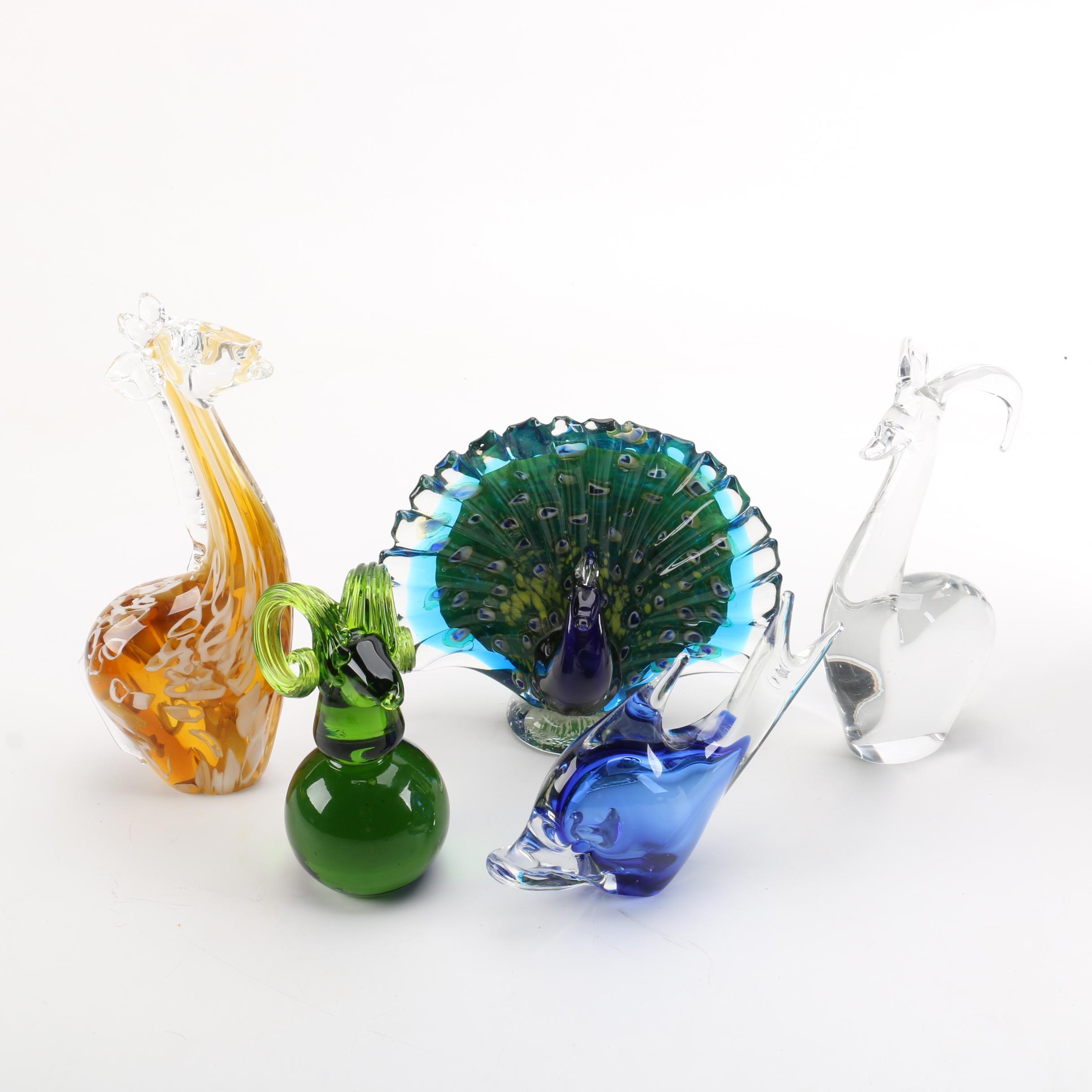 Art Glass Animal Figurines