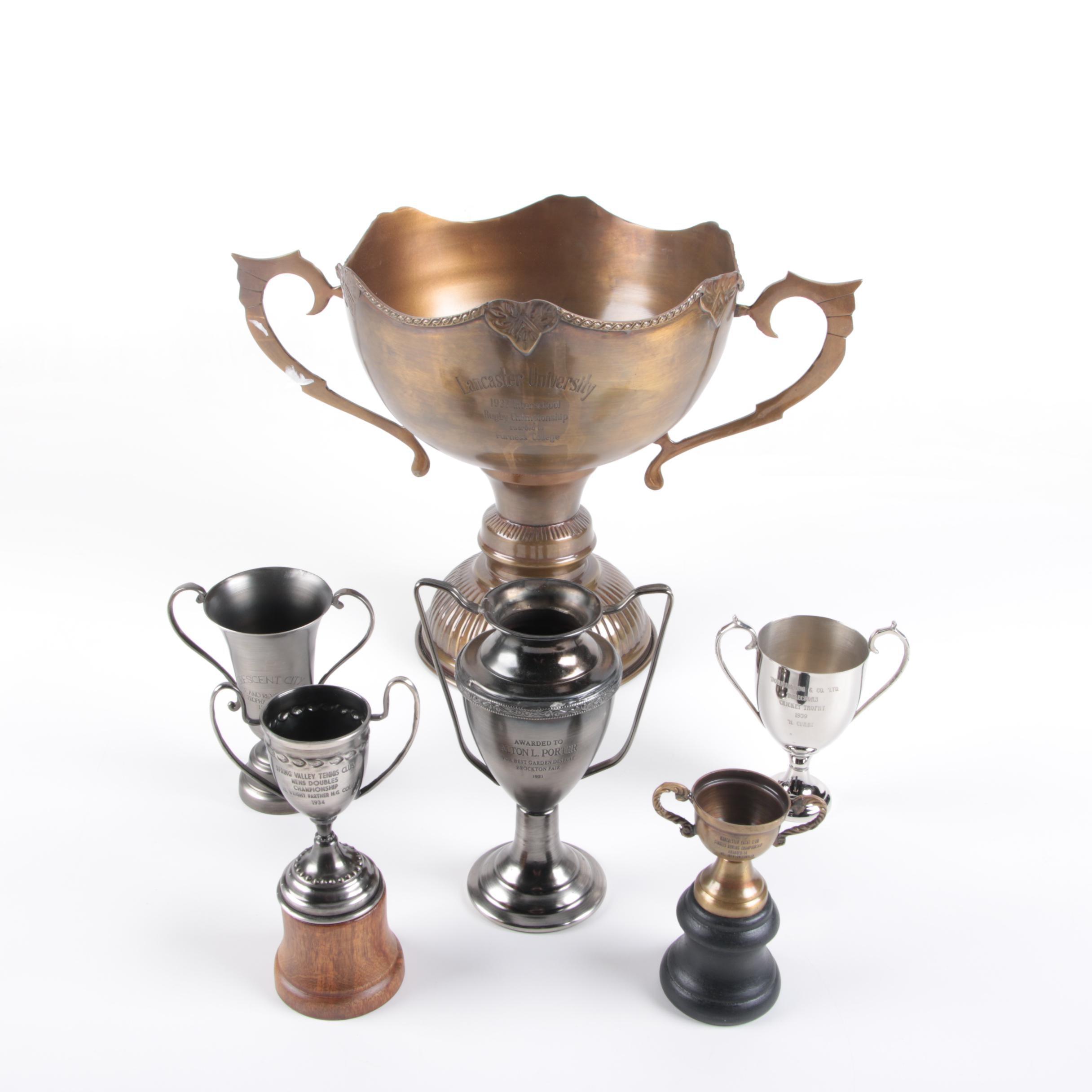 Vintage Loving Cup Style Trophies
