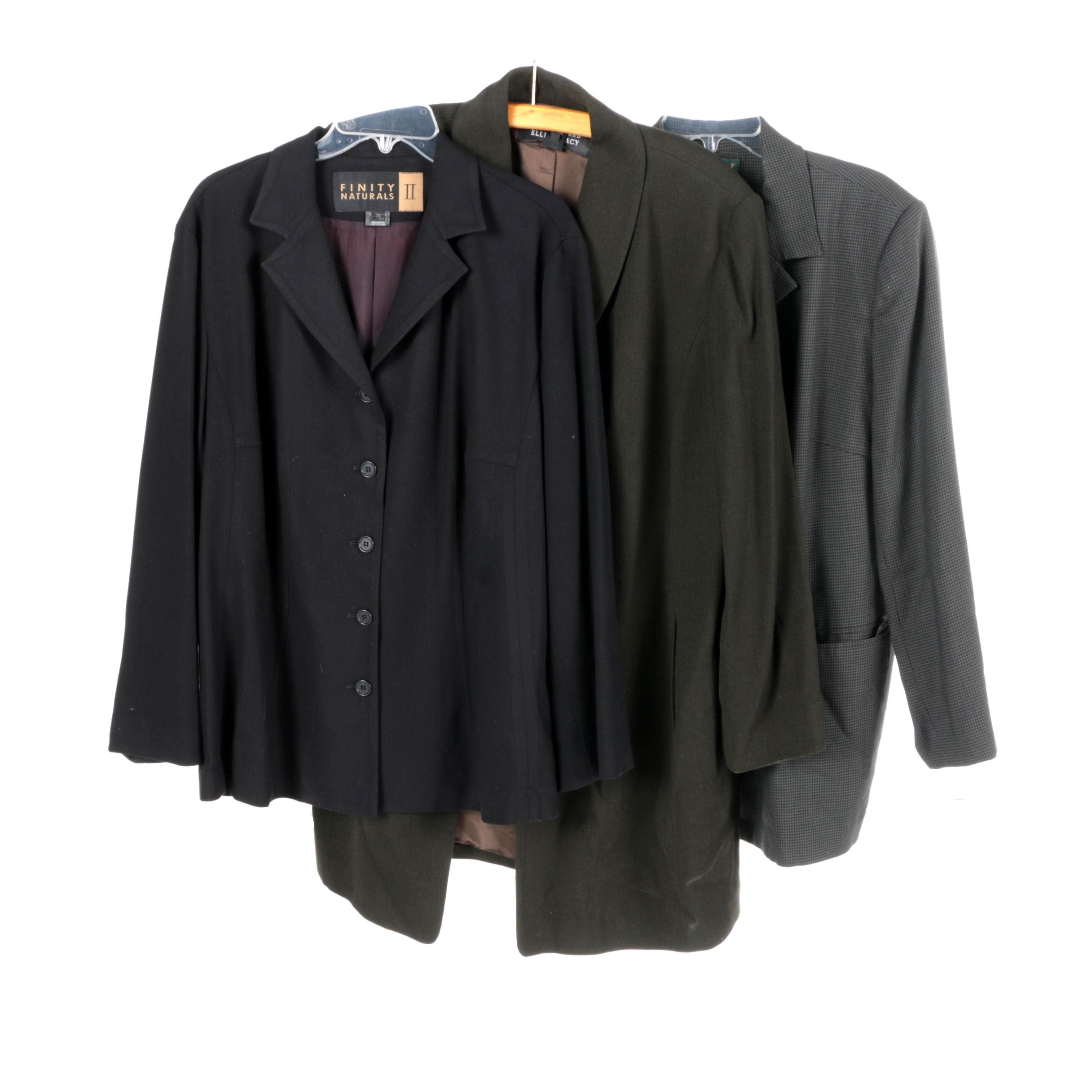 Women's Suit Jackets Including Vintage Harvé Benard by Benard Holtzman