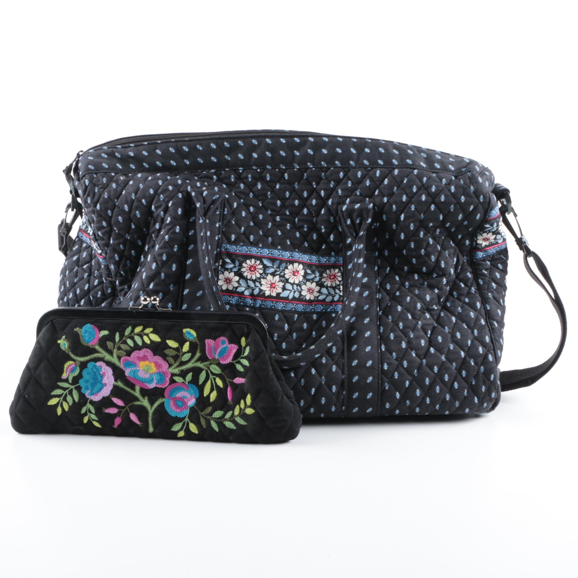 Vera Bradley Weekender Bag with Pouch