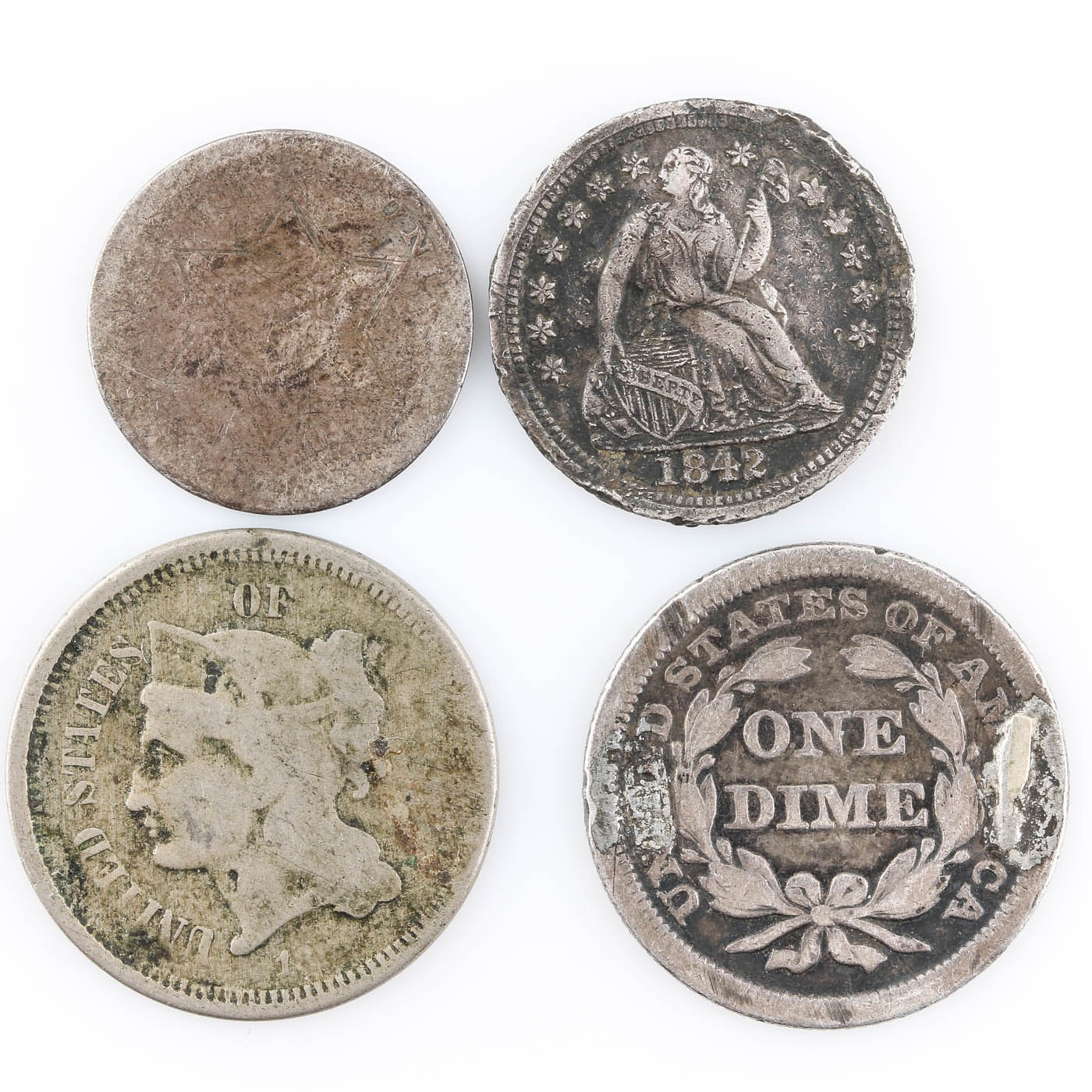 Group of Various American Coins