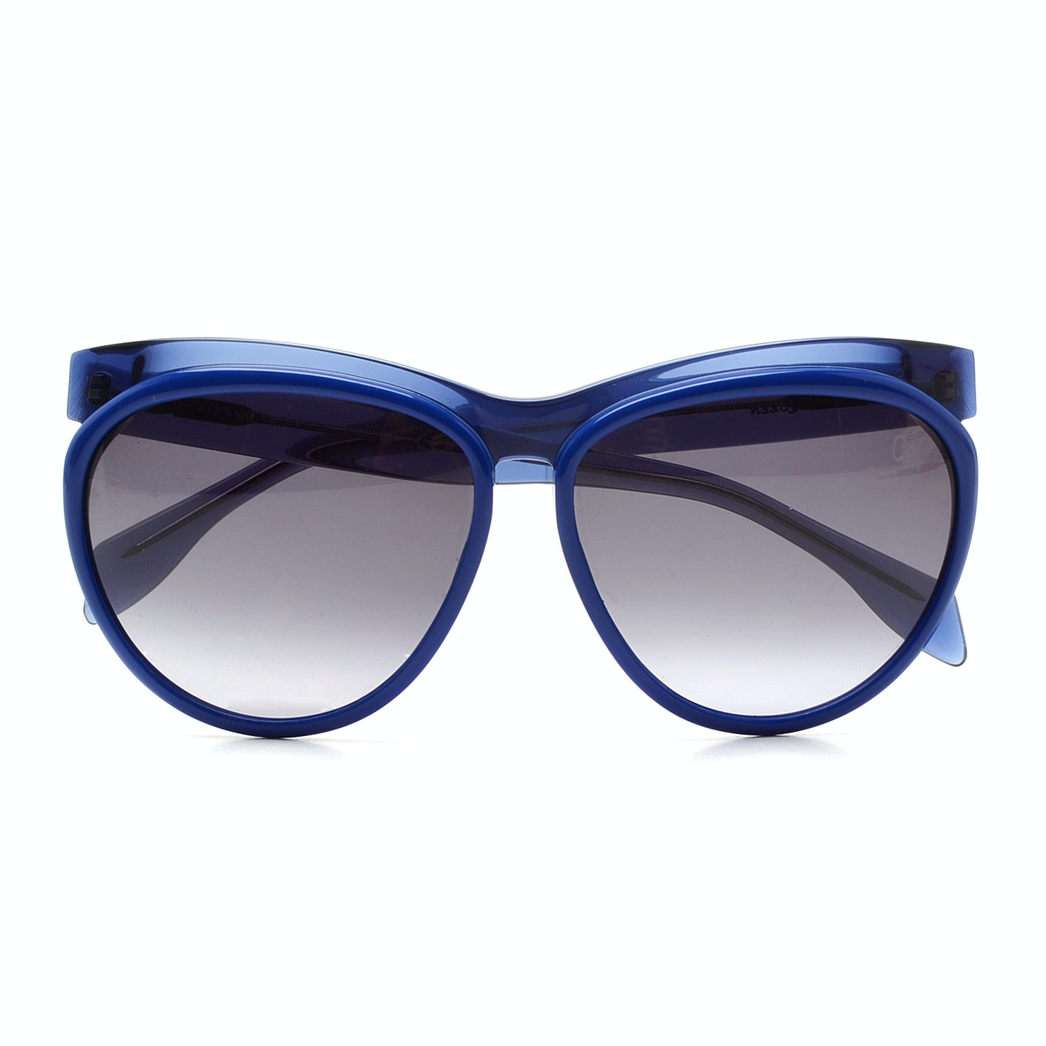 Alexander McQueen Blue 4248/S Sunglasses