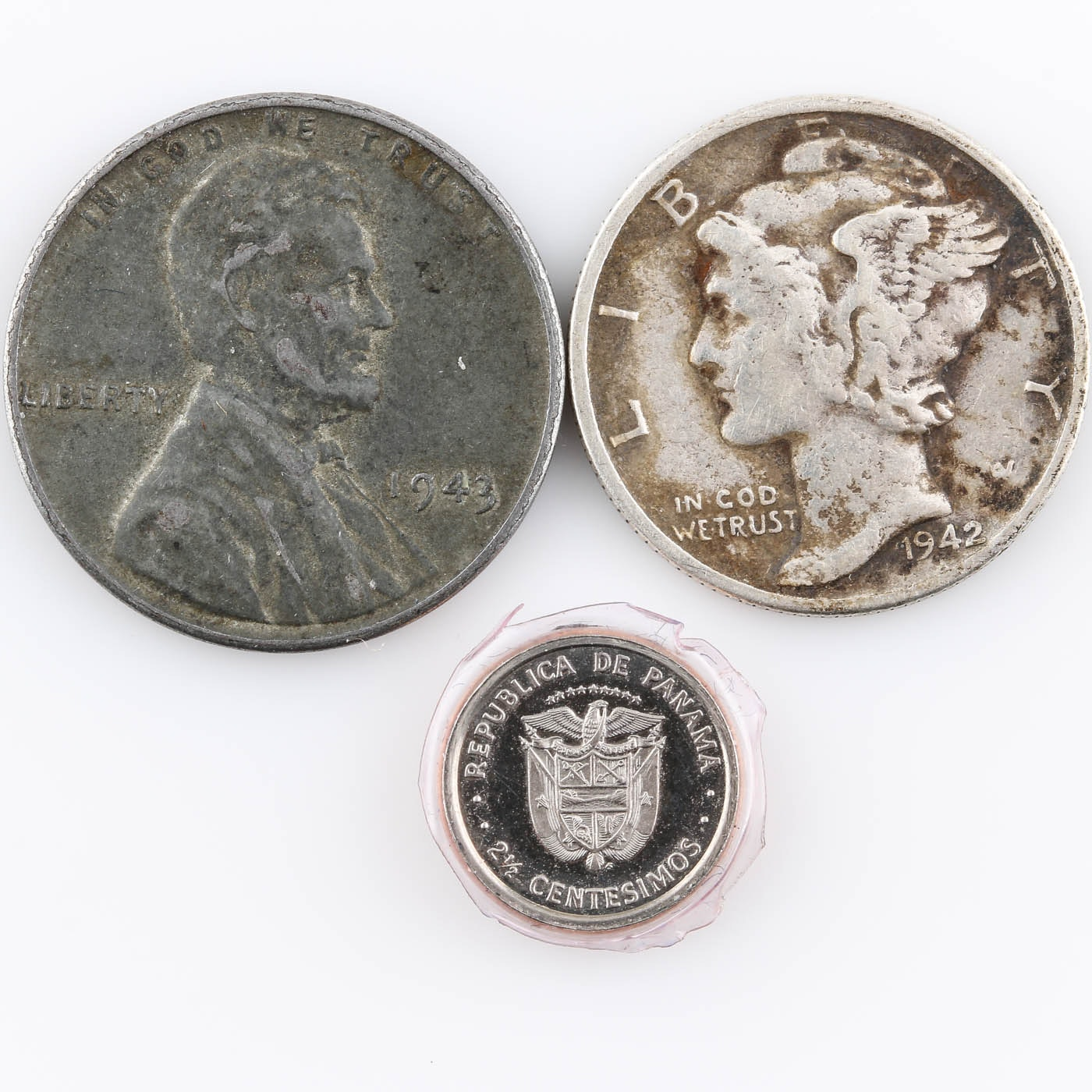Group of Various Coins